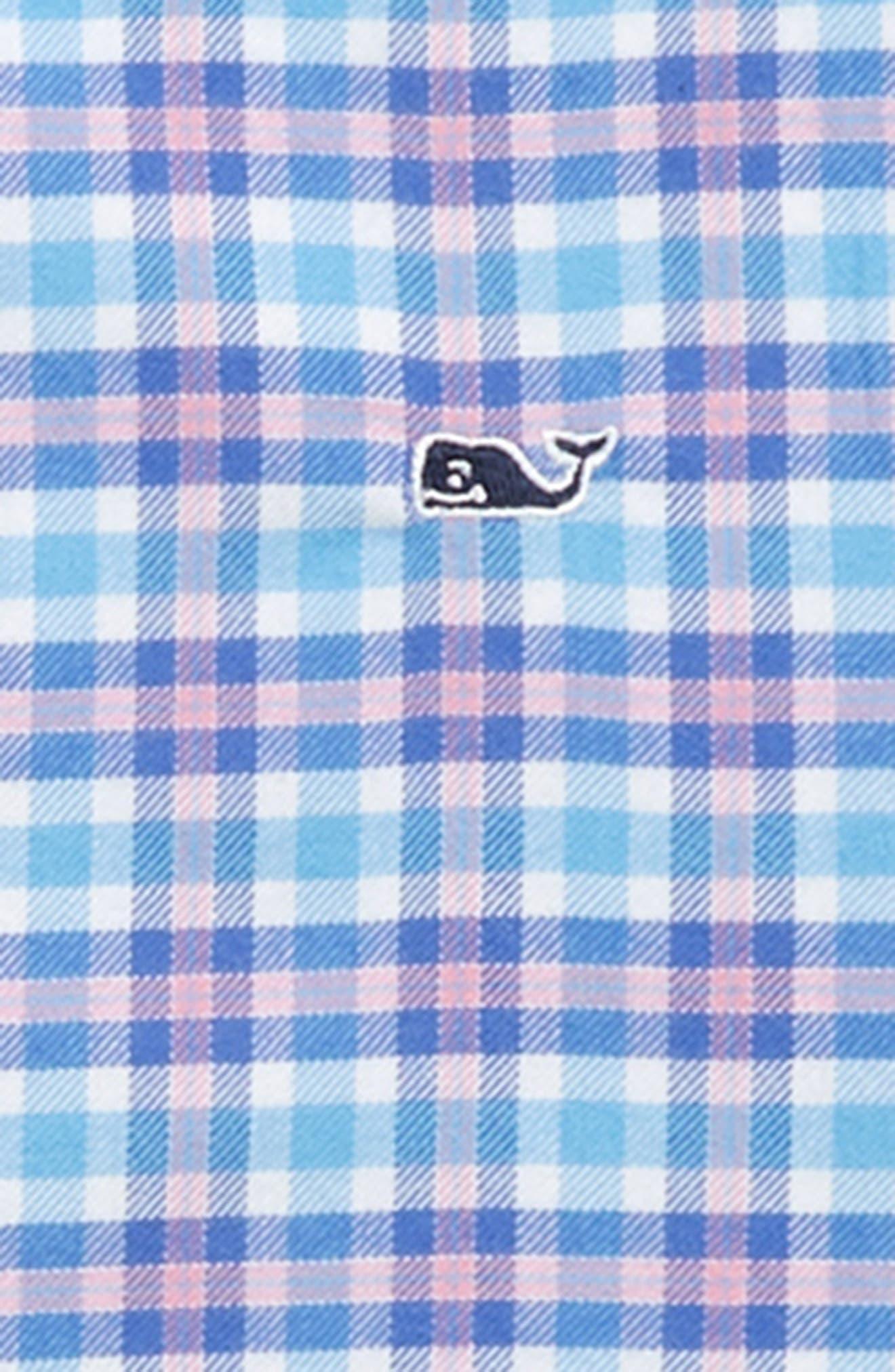 Morgan Way Flannel Whale Shirt,                             Alternate thumbnail 2, color,                             484
