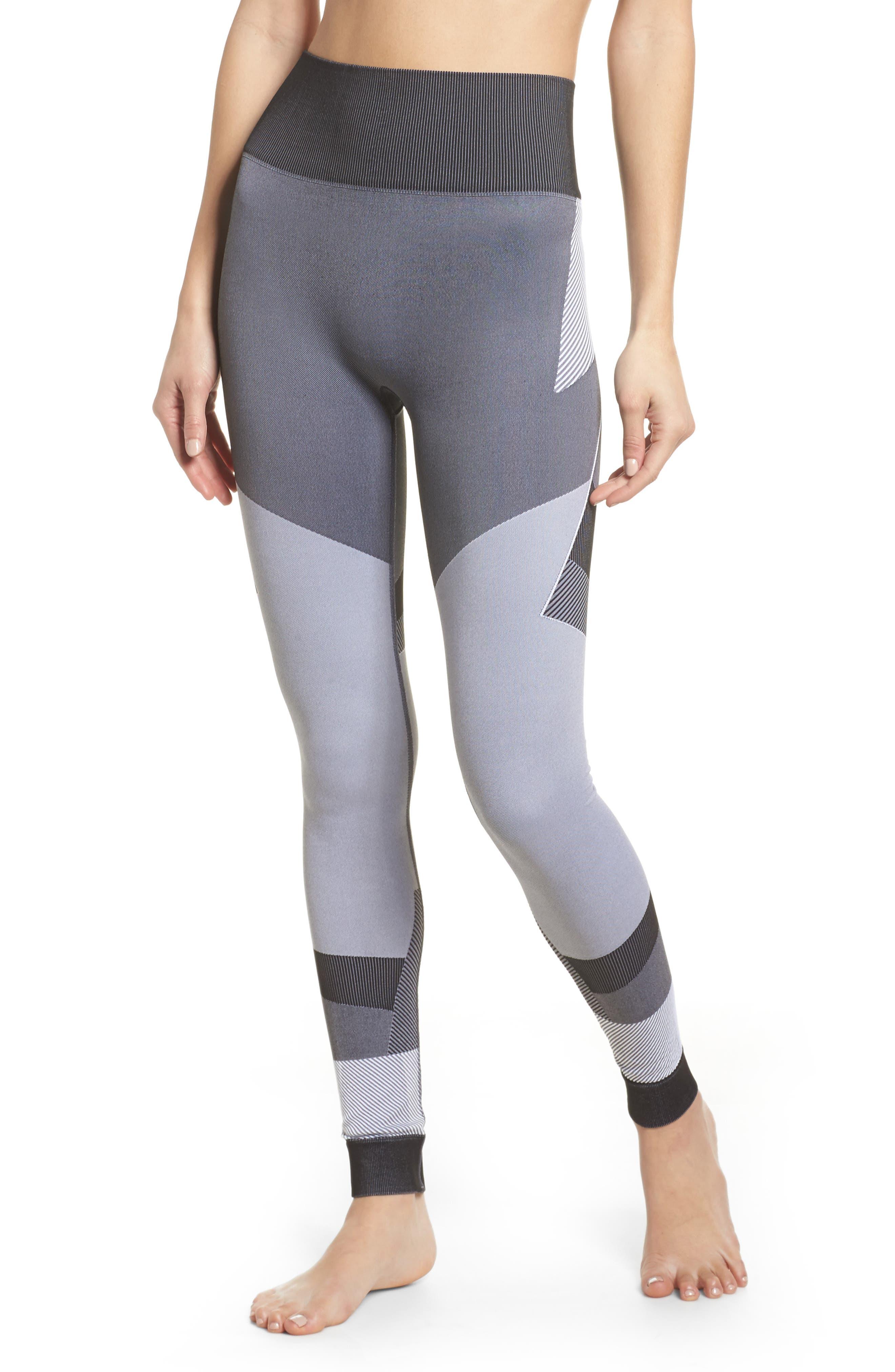 Score High Waist Leggings,                         Main,                         color, BLACK/ GREY