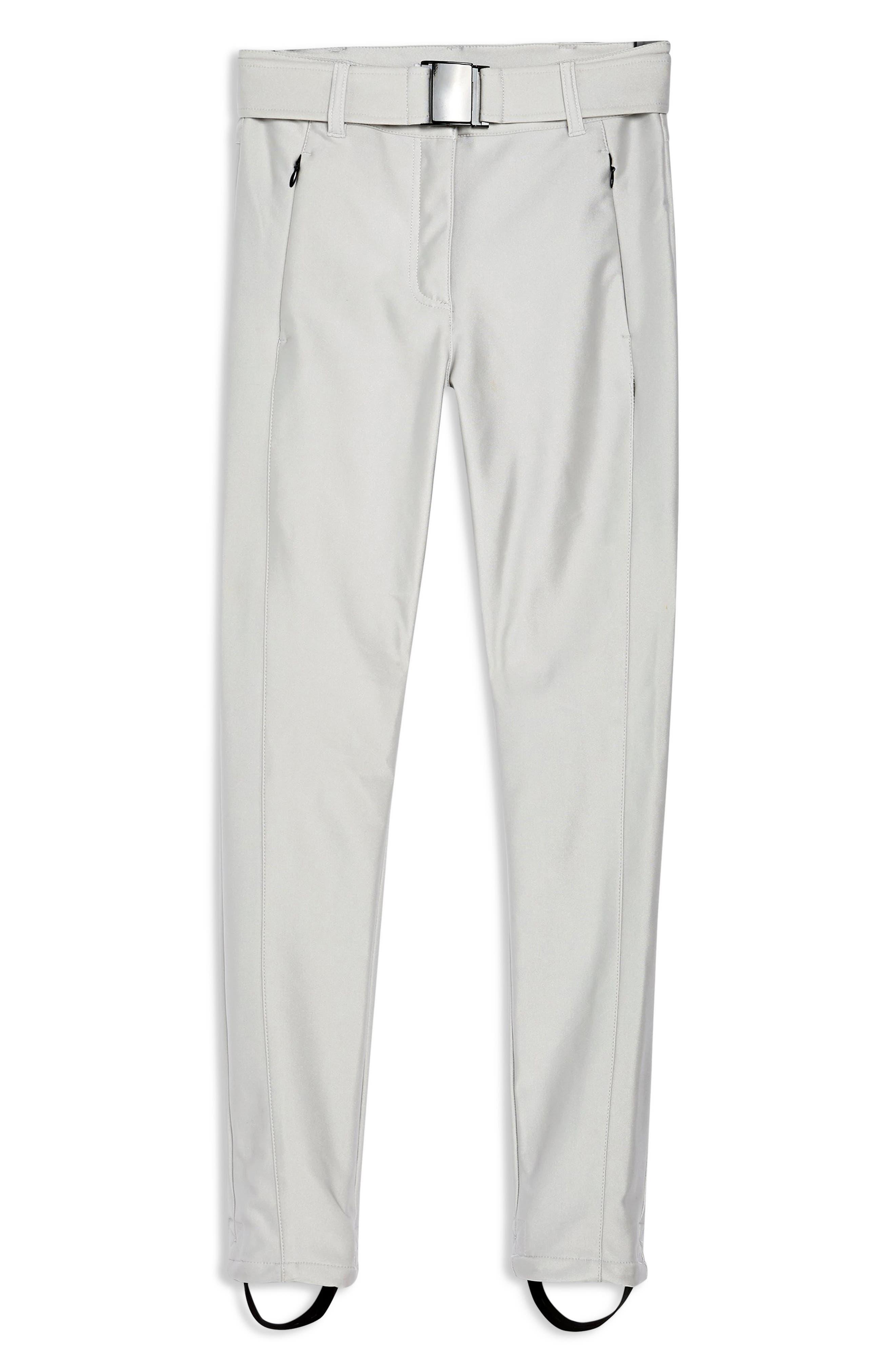 Sno Metallic Alanis Trousers,                             Alternate thumbnail 3, color,                             SILVER MULTI