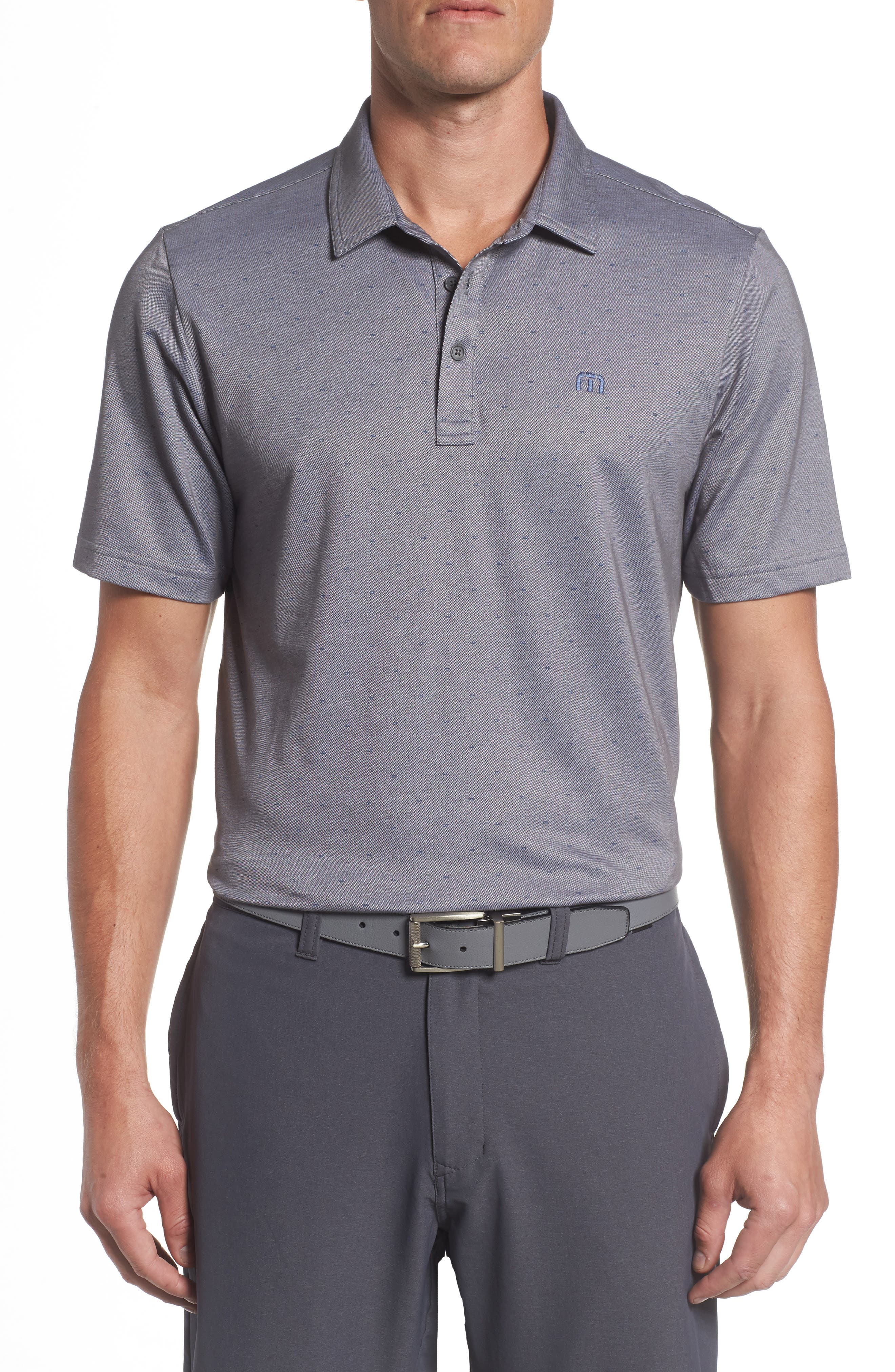 Thackerson Jacquard Piqué Polo,                         Main,                         color, 021