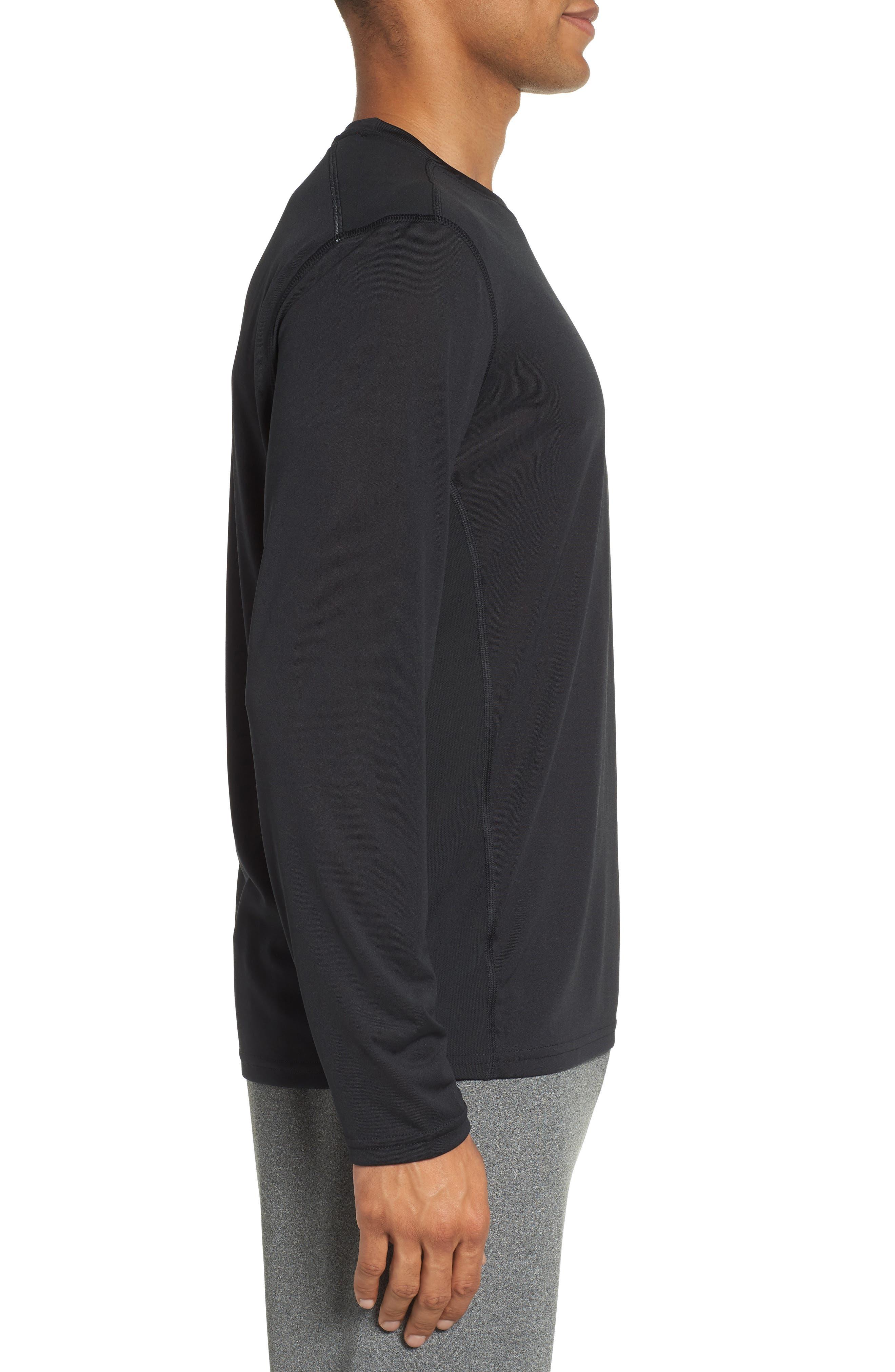 Goodsport T-Shirt,                             Alternate thumbnail 3, color,                             JET BLACK