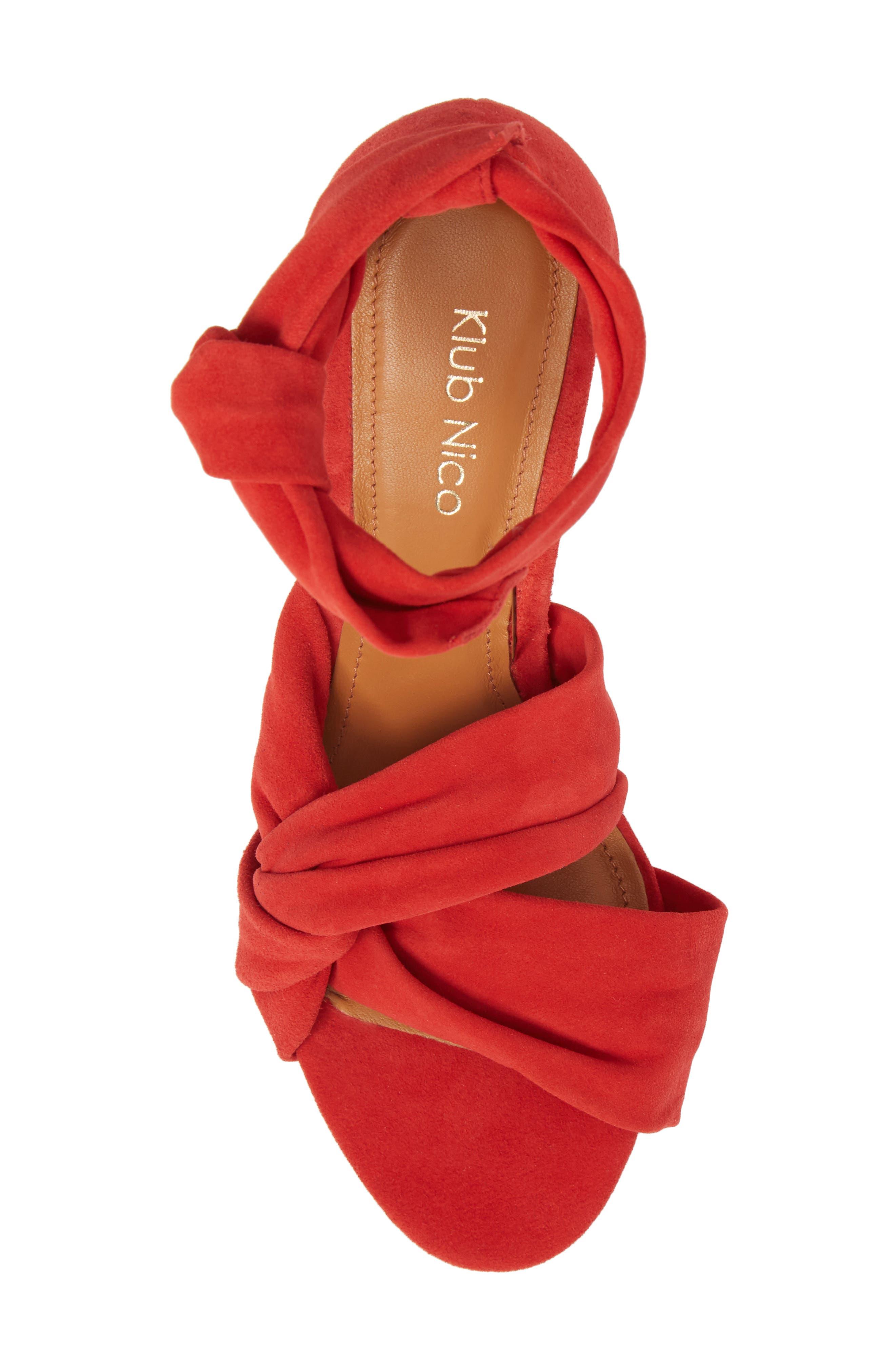 Anni Tie Ankle Sandal,                             Alternate thumbnail 14, color,