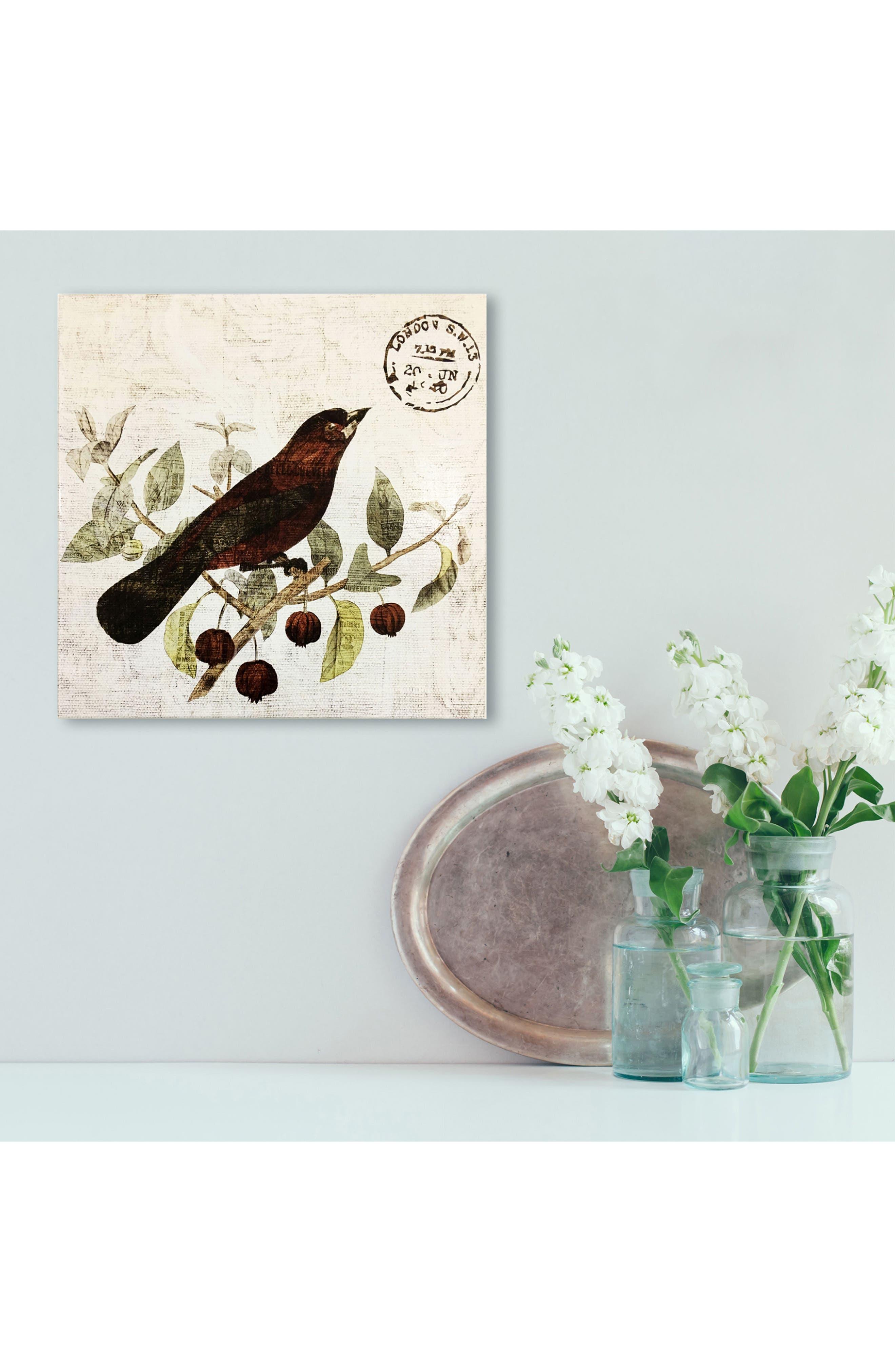 Wynwood Bird in the Tree II Wall Art,                             Alternate thumbnail 2, color,                             250