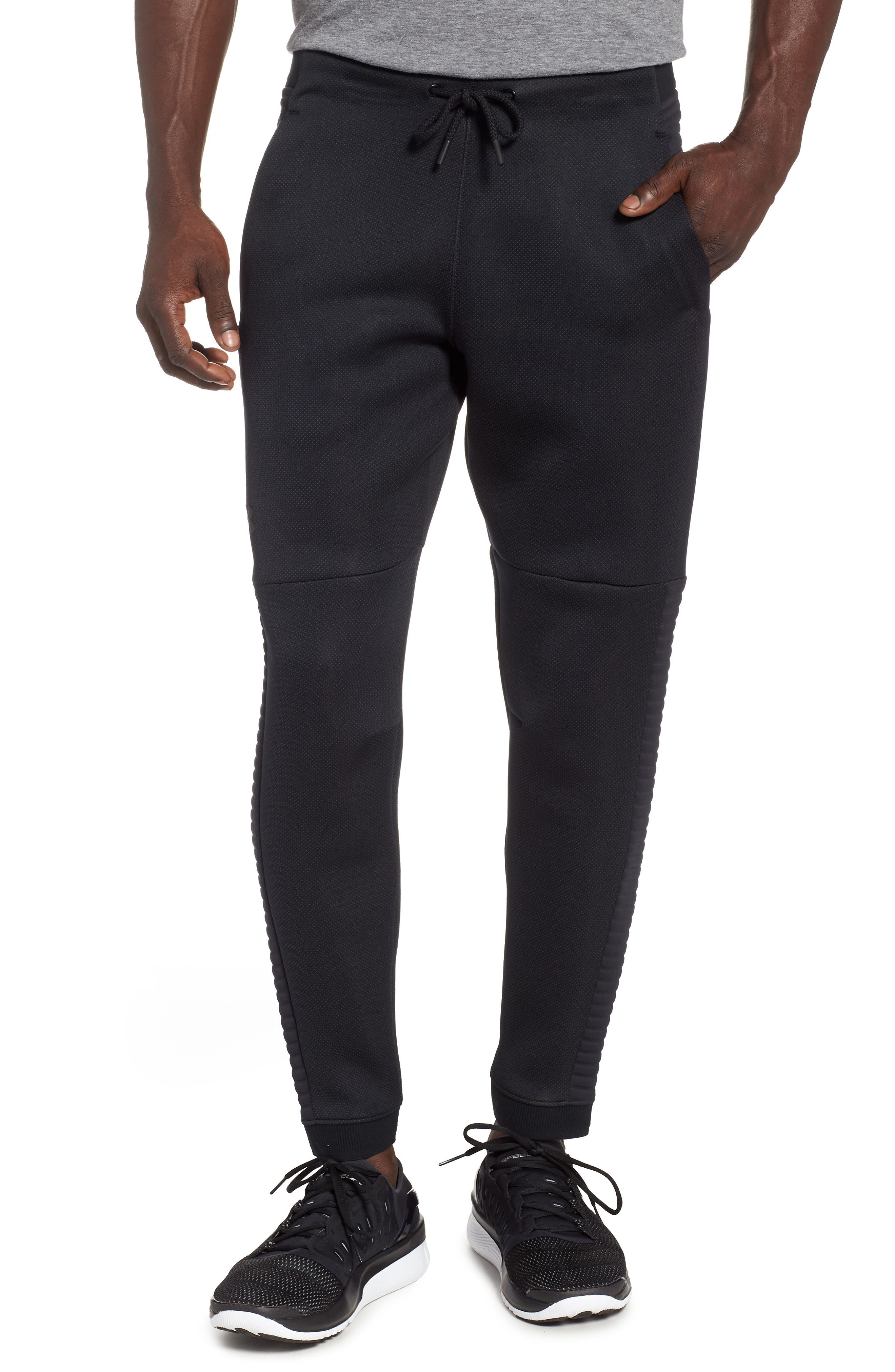Unstoppable Move Airgap Pants,                             Main thumbnail 1, color,                             BLACK/ CHARCOAL/ BLACK