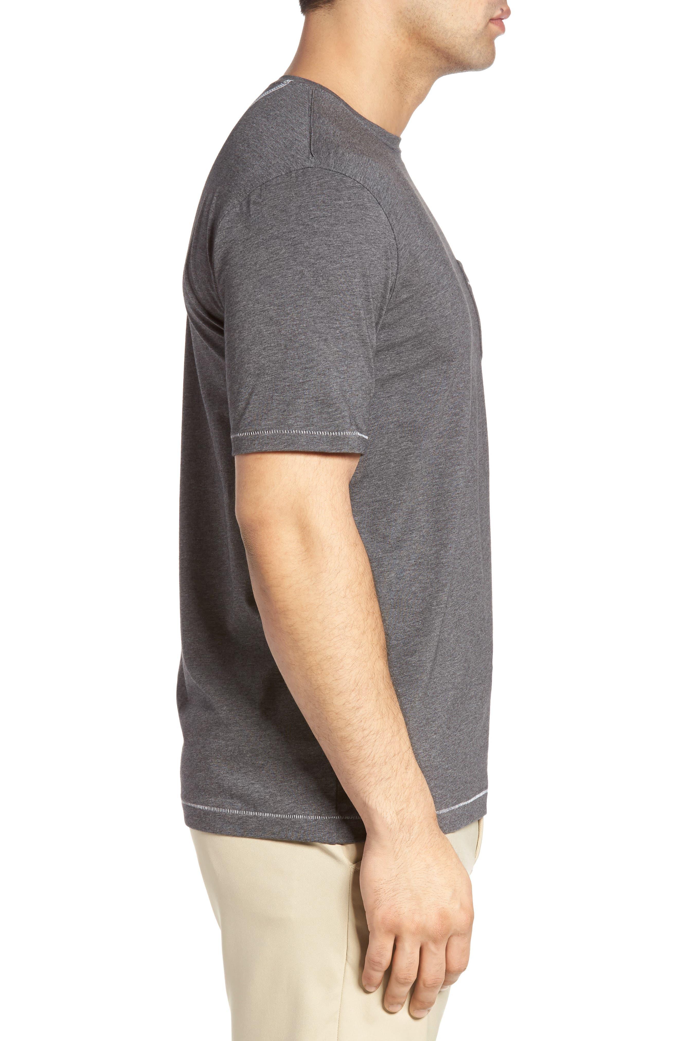BOBBY JONES,                             R18 Pocket T-Shirt,                             Alternate thumbnail 3, color,                             011