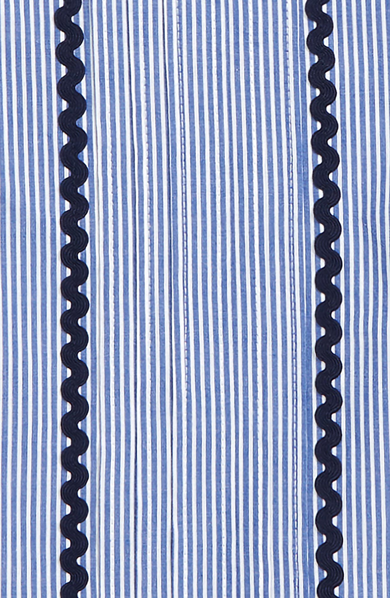 Rickrack Stripe Top,                             Alternate thumbnail 2, color,                             YACHT BLUE