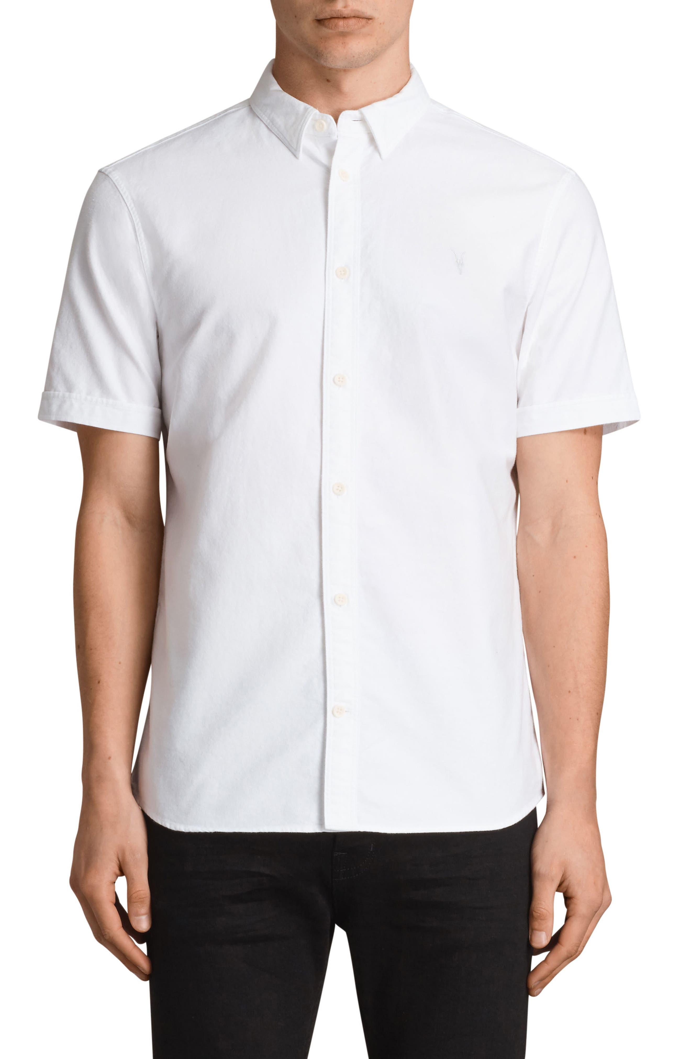 Huntington Regular Fit Short Sleeve Sport Shirt,                             Main thumbnail 3, color,