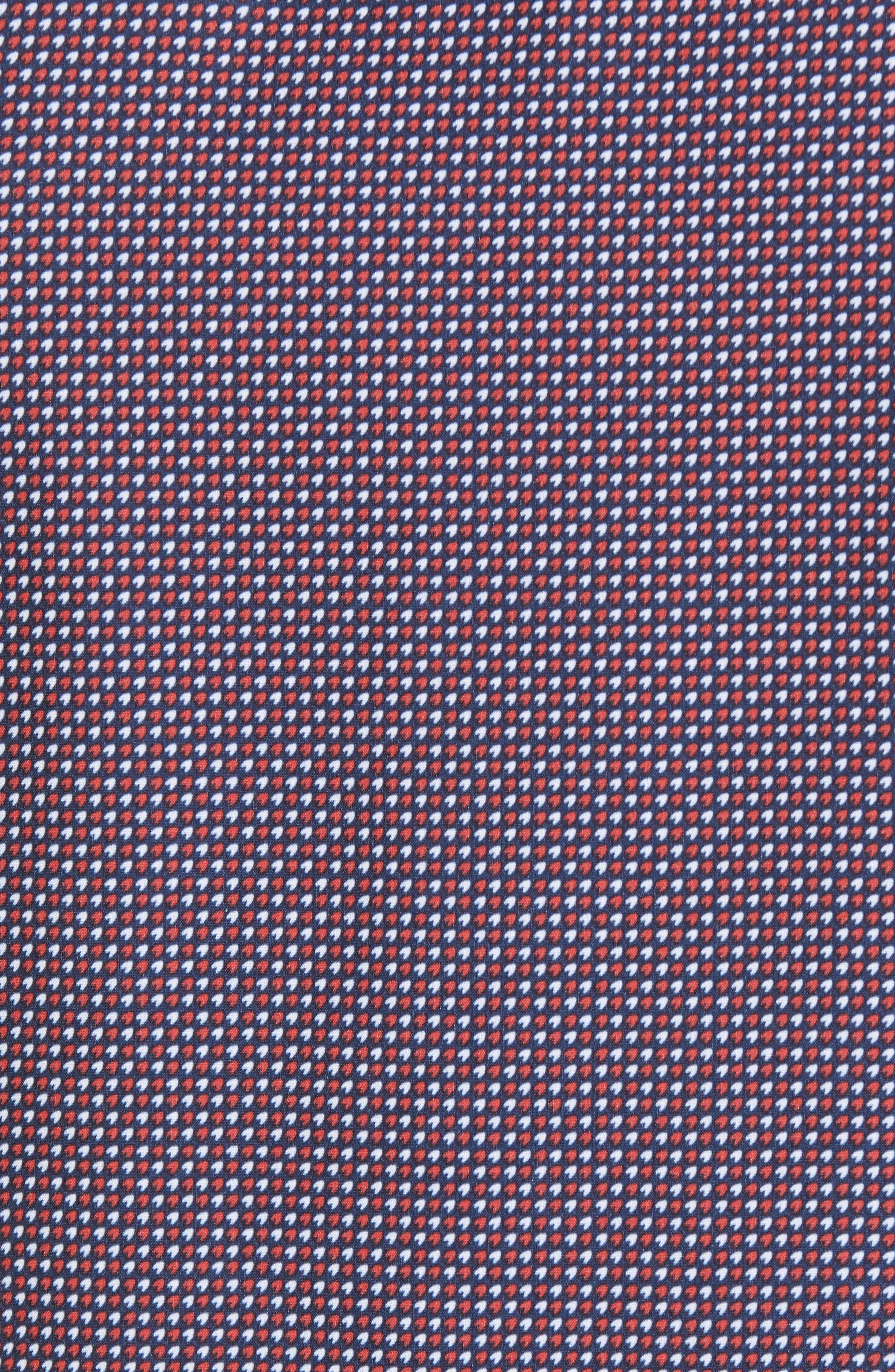 Gibson Slim Fit Dot Performance Sport Shirt,                             Alternate thumbnail 5, color,                             415