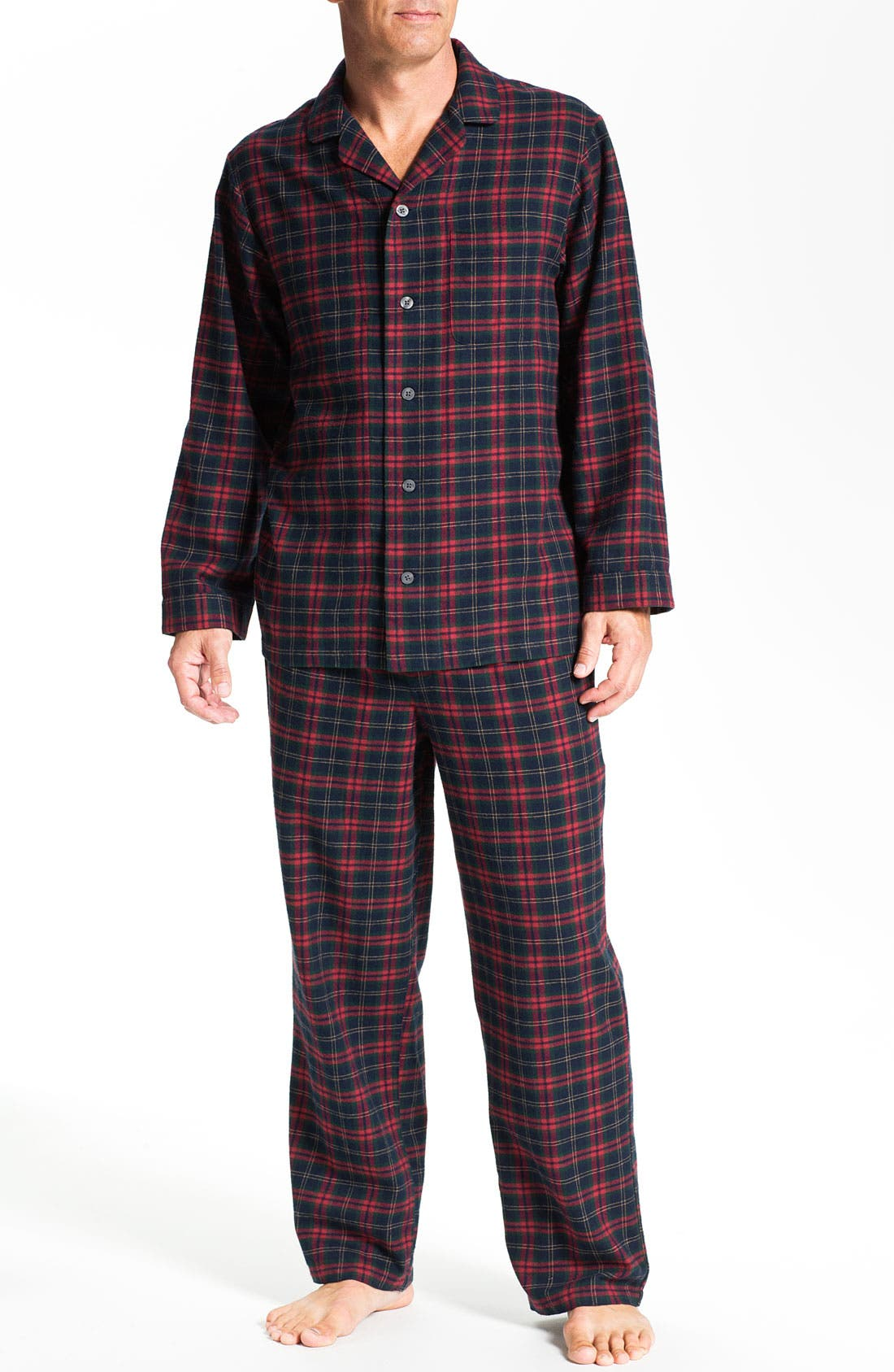'824' Flannel Pajama Set,                             Main thumbnail 31, color,
