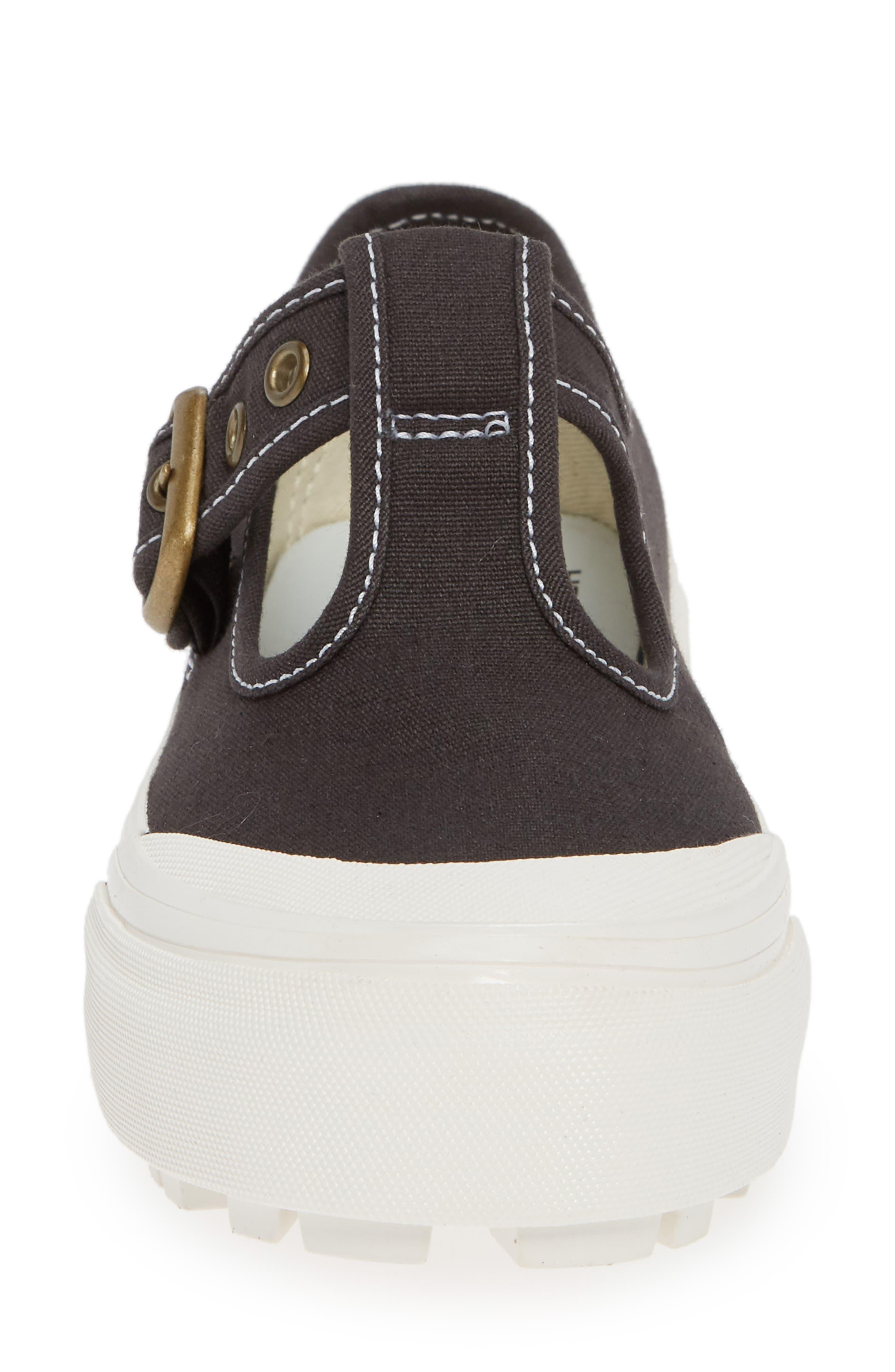Anaheim Factory 93 DX T-Strap Sneaker,                             Alternate thumbnail 4, color,                             BLACK