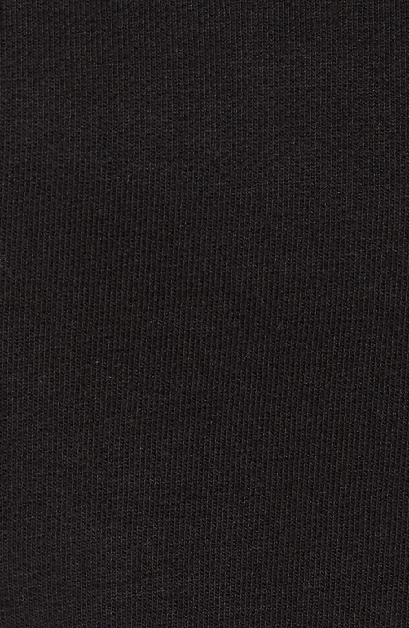 PUMA by Rihanna Graphic Short Sleeve Crop Sweatshirt,                             Alternate thumbnail 6, color,                             001