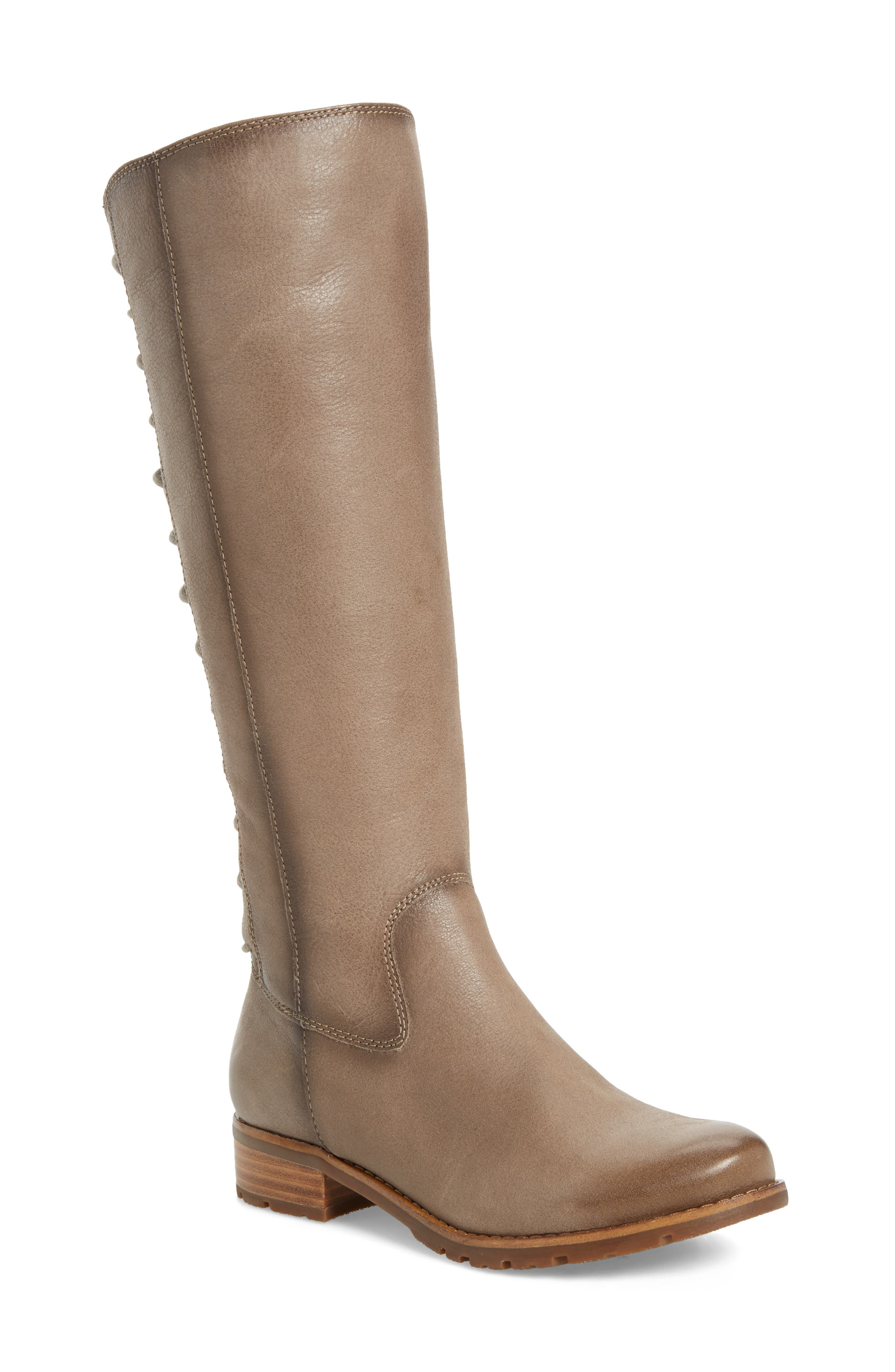 'Sharnell' Riding Boot,                             Main thumbnail 1, color,                             030