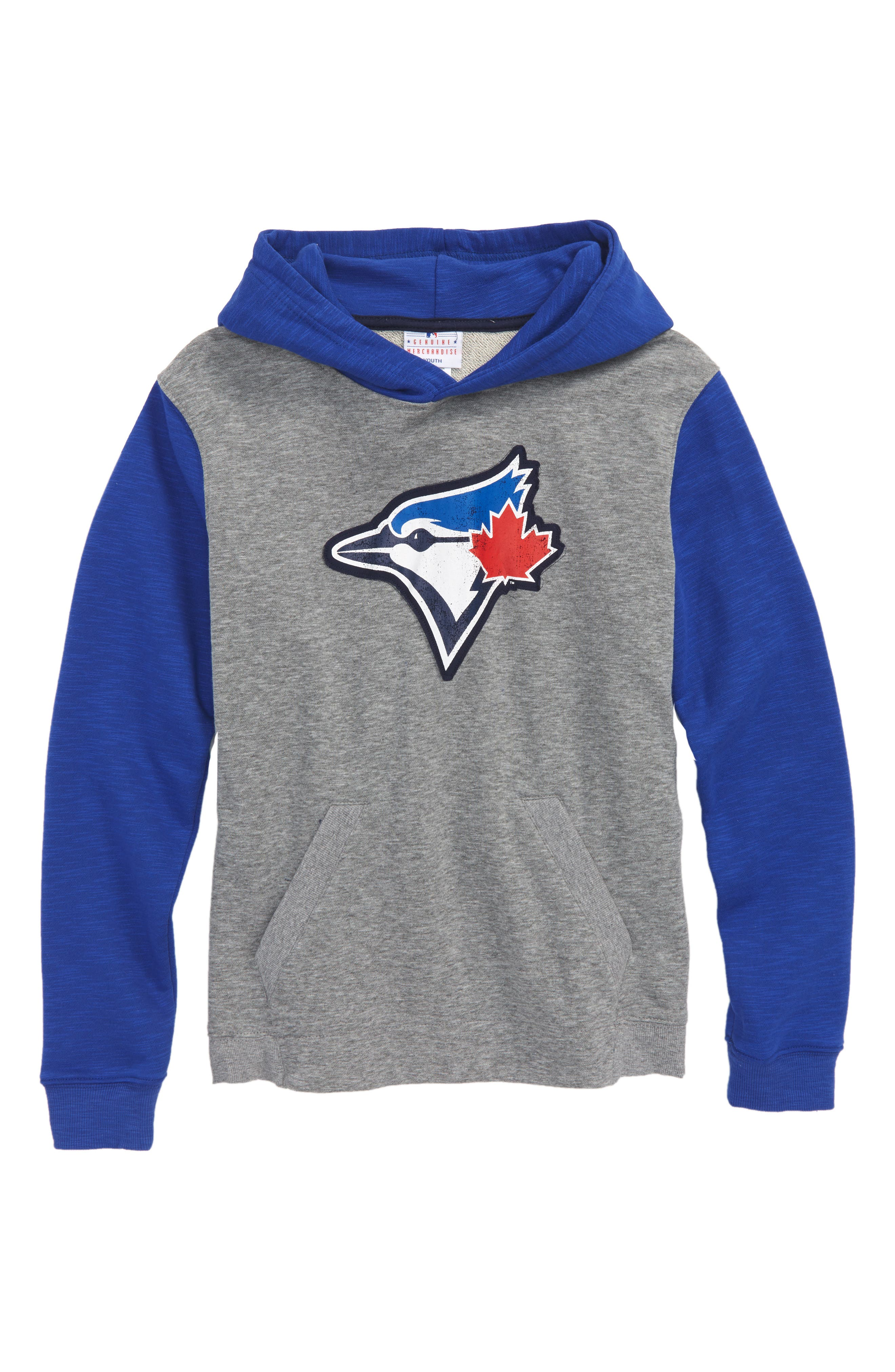 New Beginnings - Toronto Blue Jays Pullover Hoodie,                             Main thumbnail 1, color,