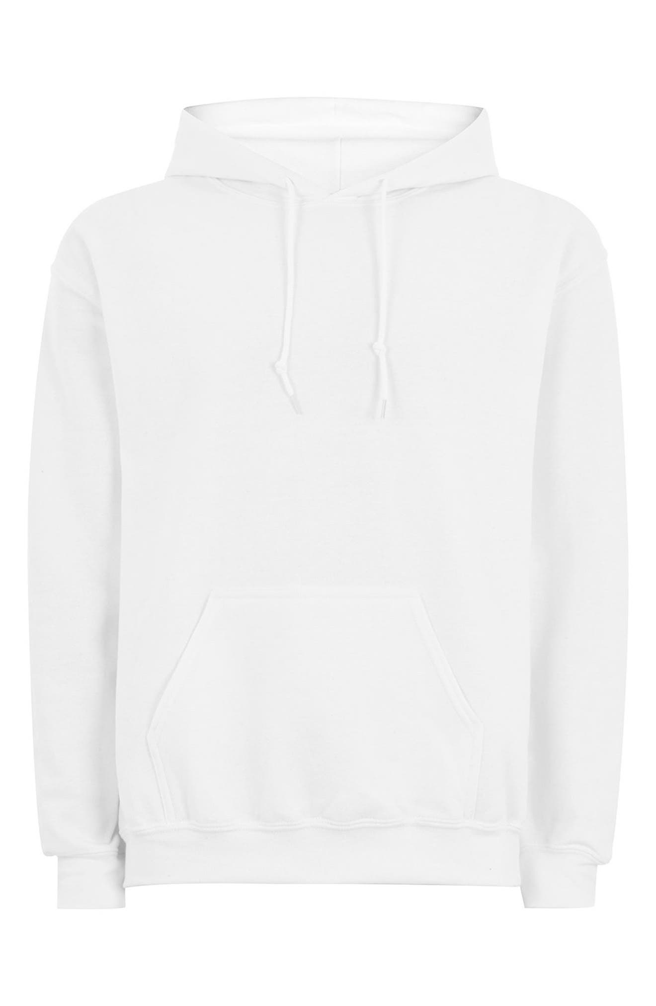 Classic Fit Gildan Pullover Hoodie,                             Alternate thumbnail 4, color,                             100