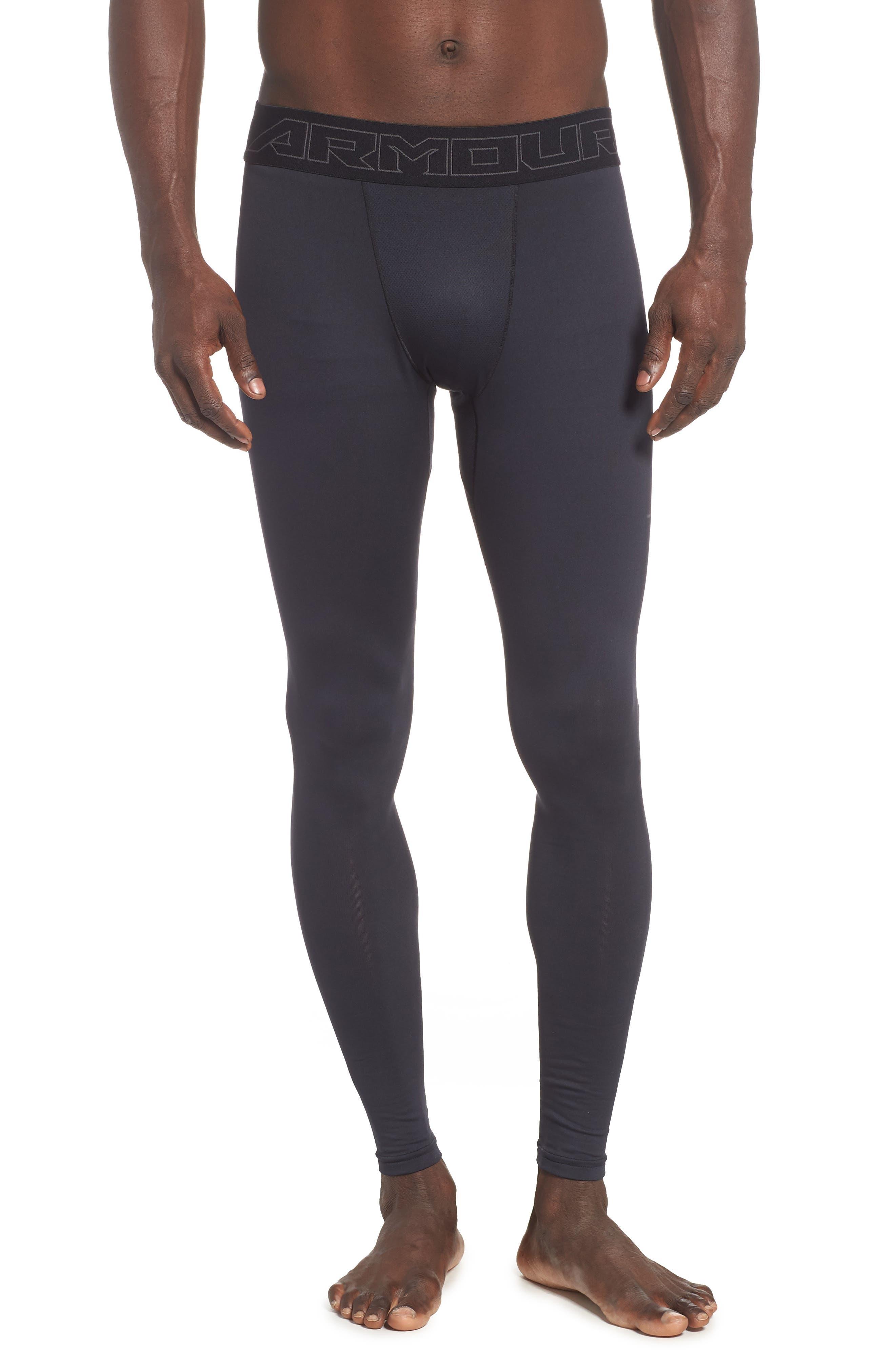 ColdGear<sup>®</sup> Leggings,                         Main,                         color, BLACK/ CHARCOAL