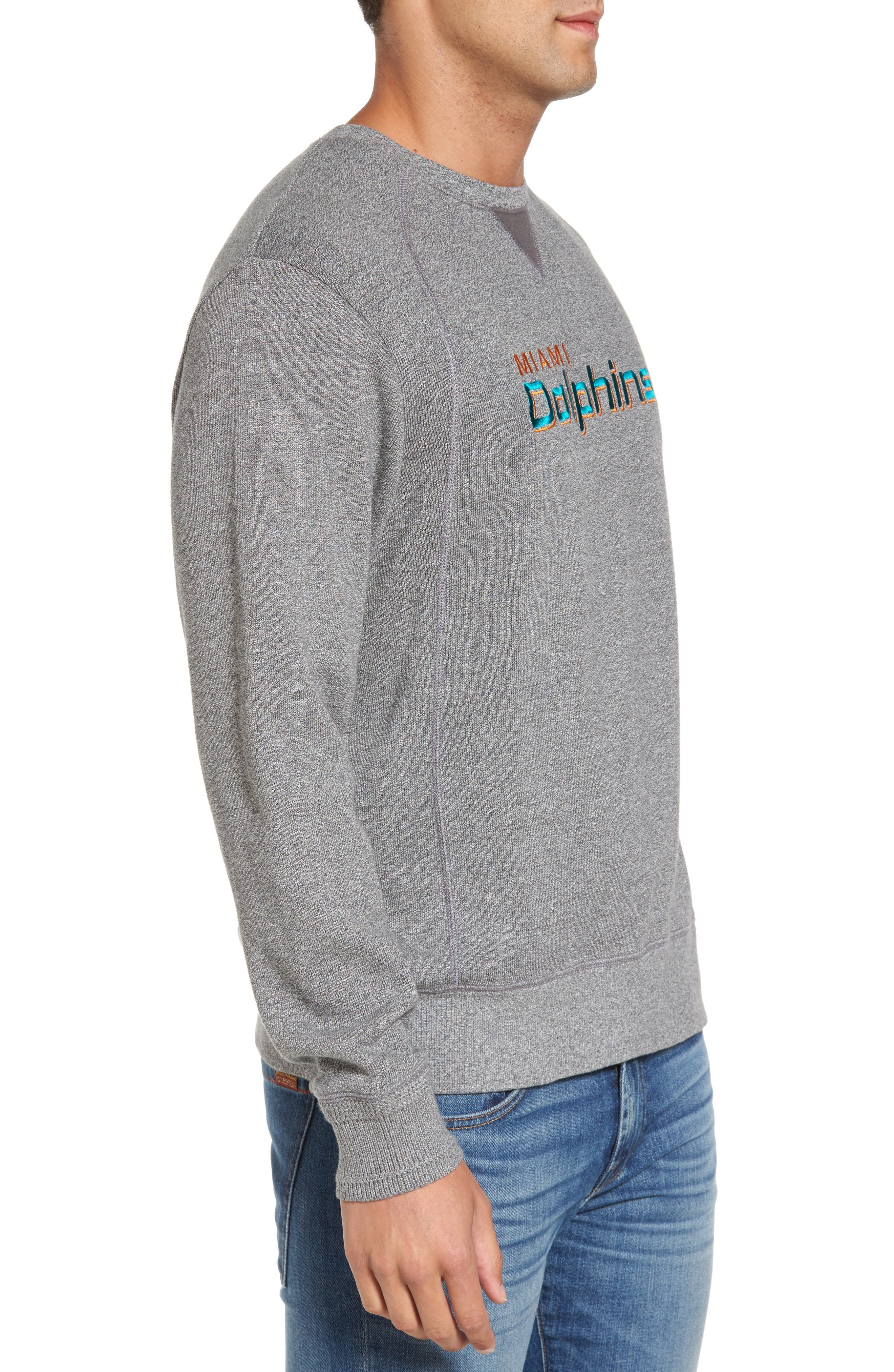 NFL Stitch of Liberty Embroidered Crewneck Sweatshirt,                             Alternate thumbnail 75, color,