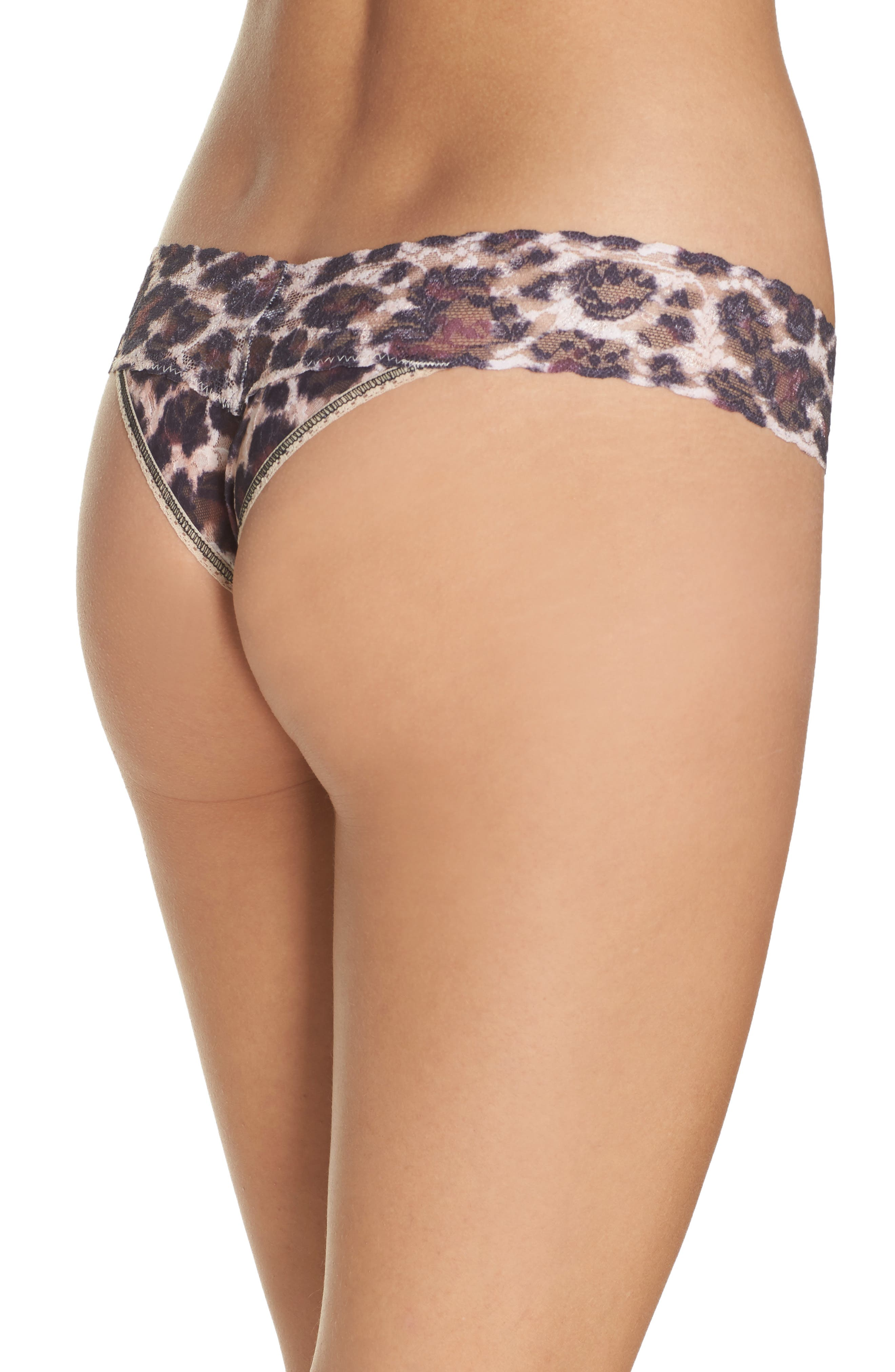 Print Low Rise Thong,                             Alternate thumbnail 25, color,
