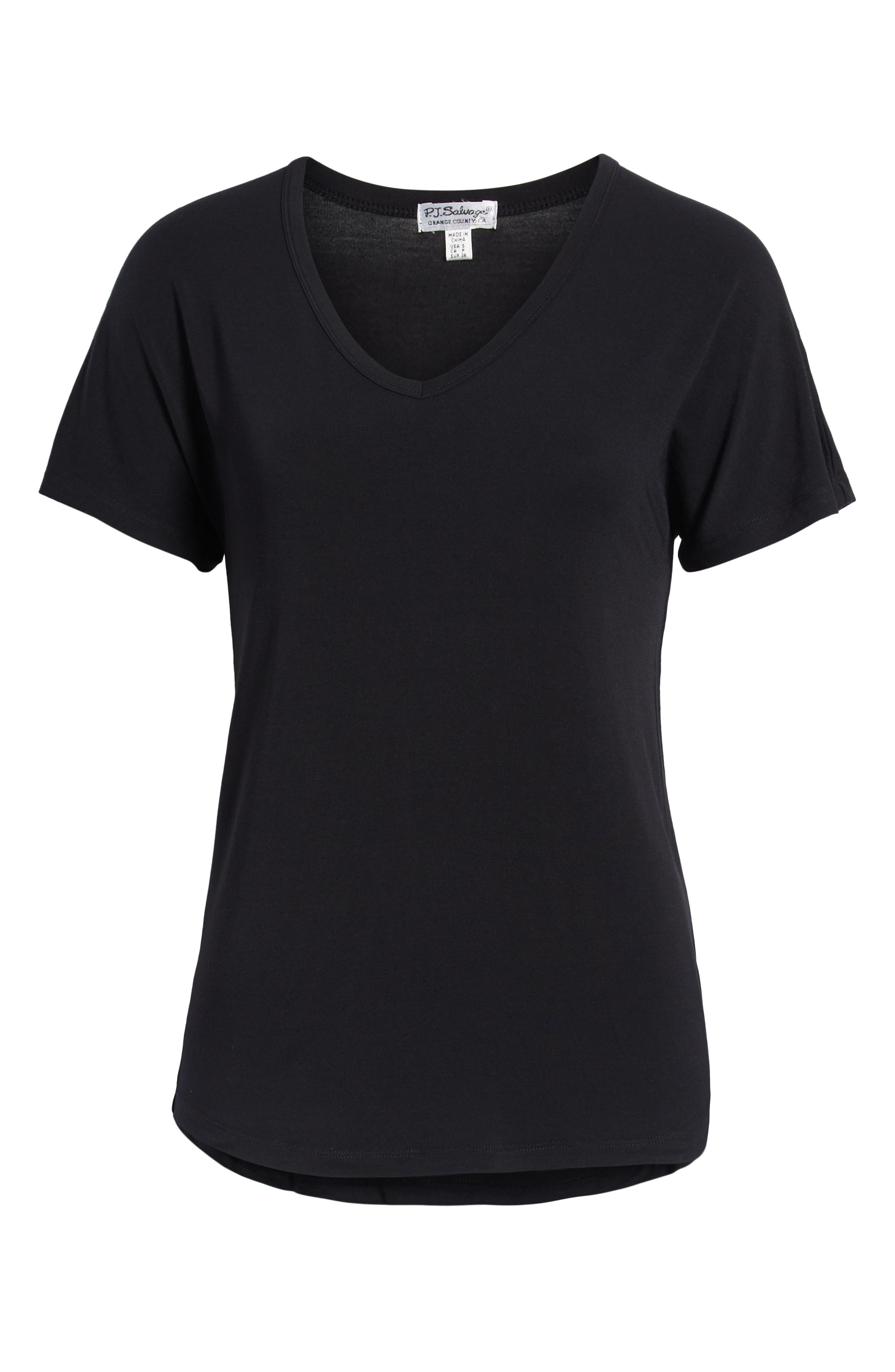 Short Sleeve Tee,                             Alternate thumbnail 2, color,                             BLACK