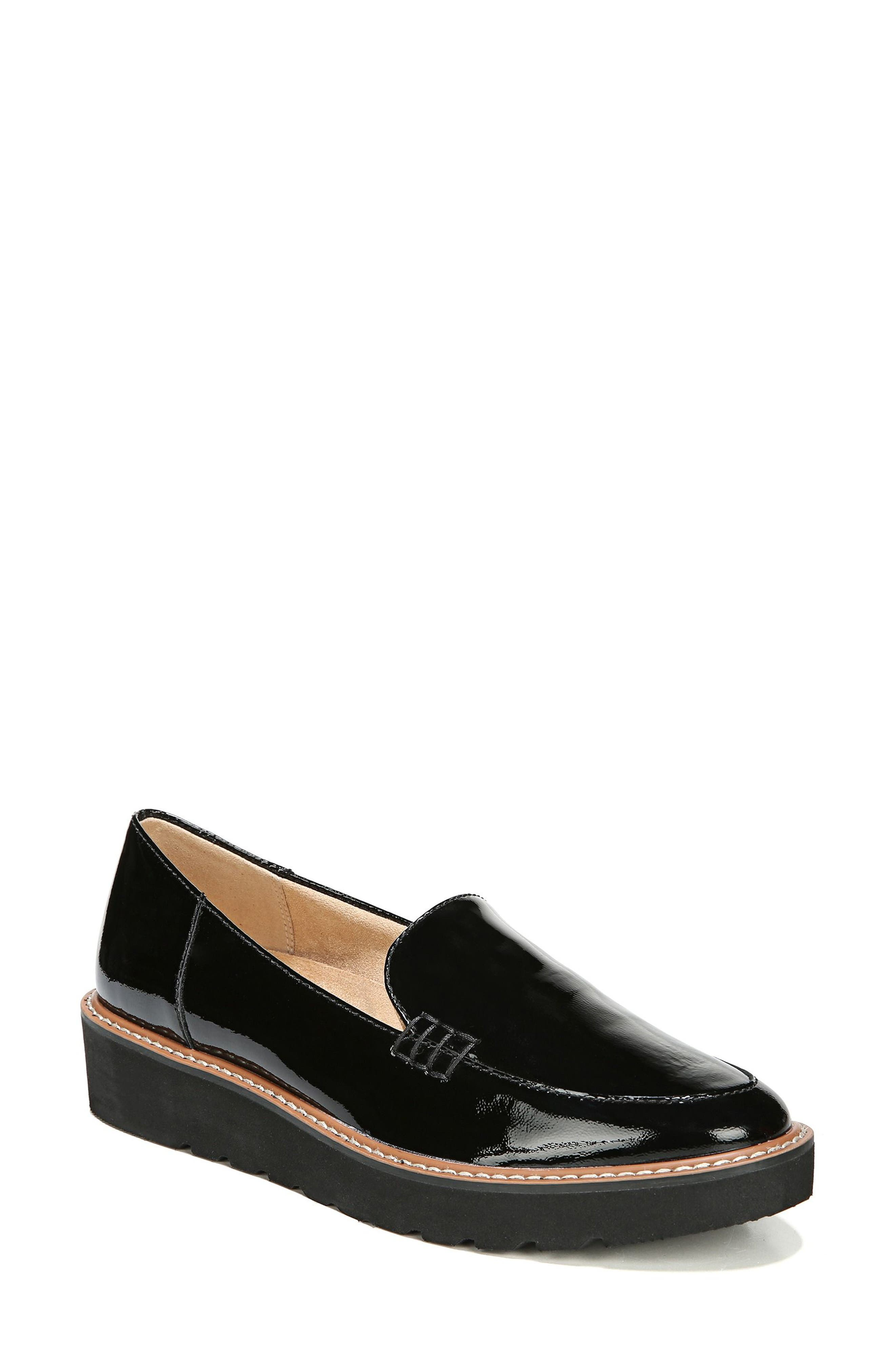Andie Loafer,                             Main thumbnail 1, color,                             BLACK PATENT