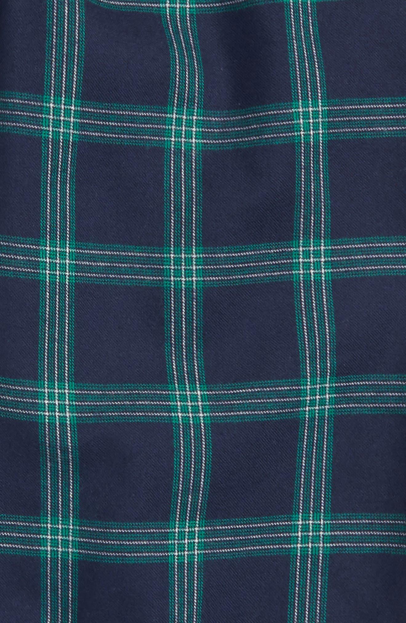 Plaid Flannel Pants,                             Main thumbnail 7, color,