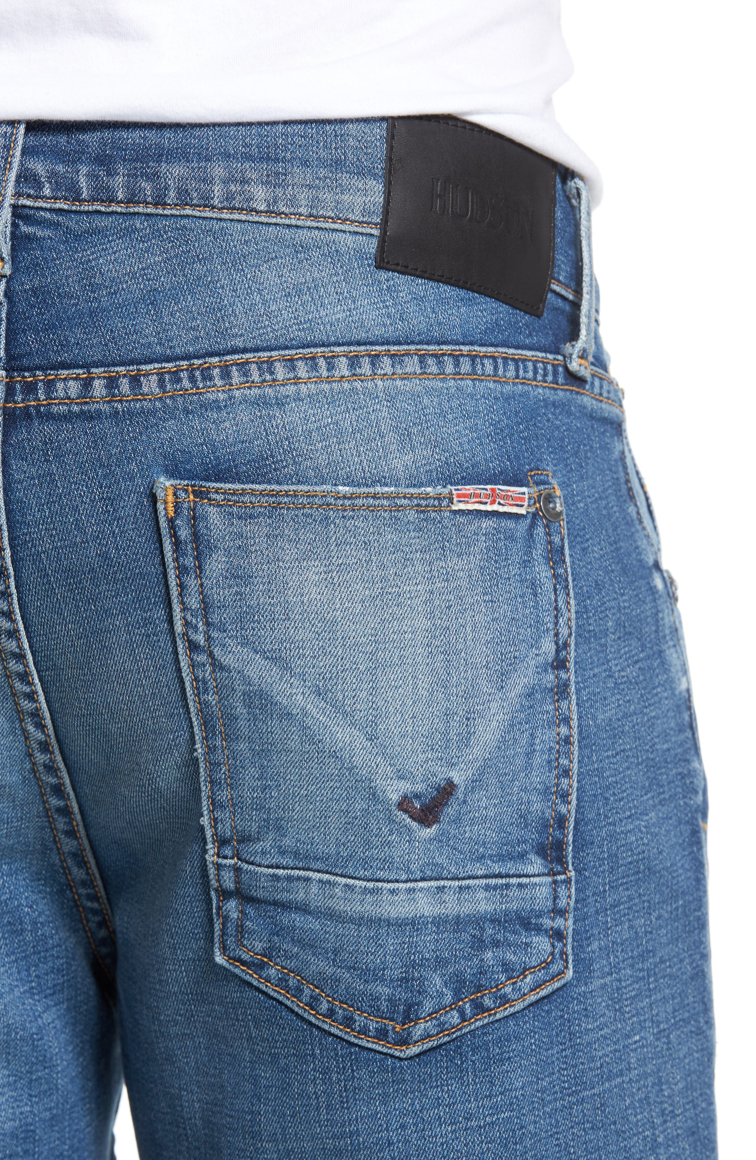 Blake Slim Fit Jeans,                             Alternate thumbnail 4, color,                             453