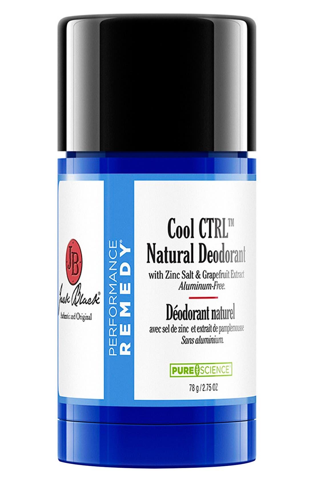 Cool CTRL<sup>™</sup> Natural Deodorant,                         Main,                         color, NO COLOR