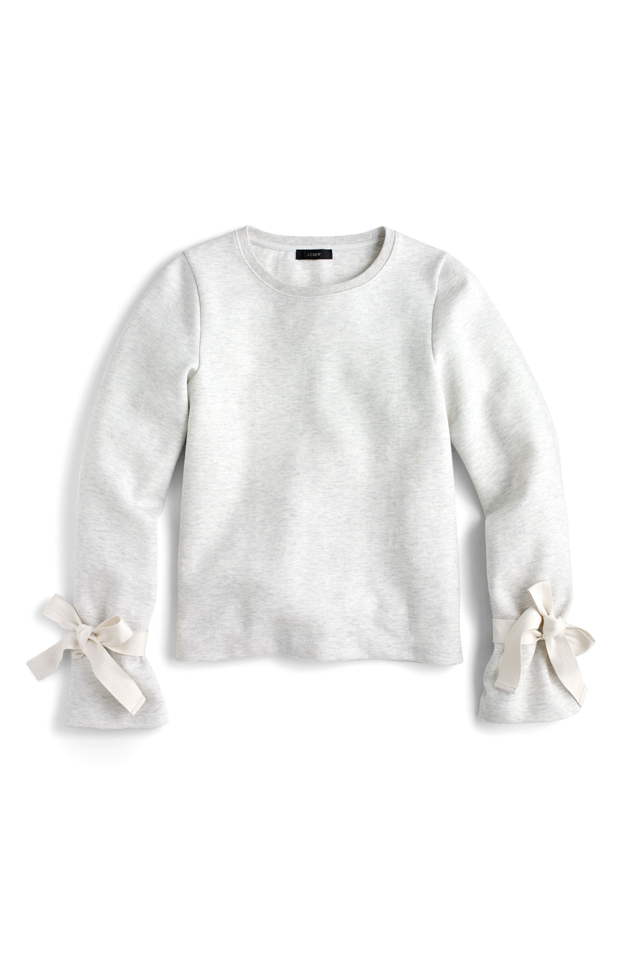 Tie Sleeve Sweatshirt,                             Main thumbnail 1, color,