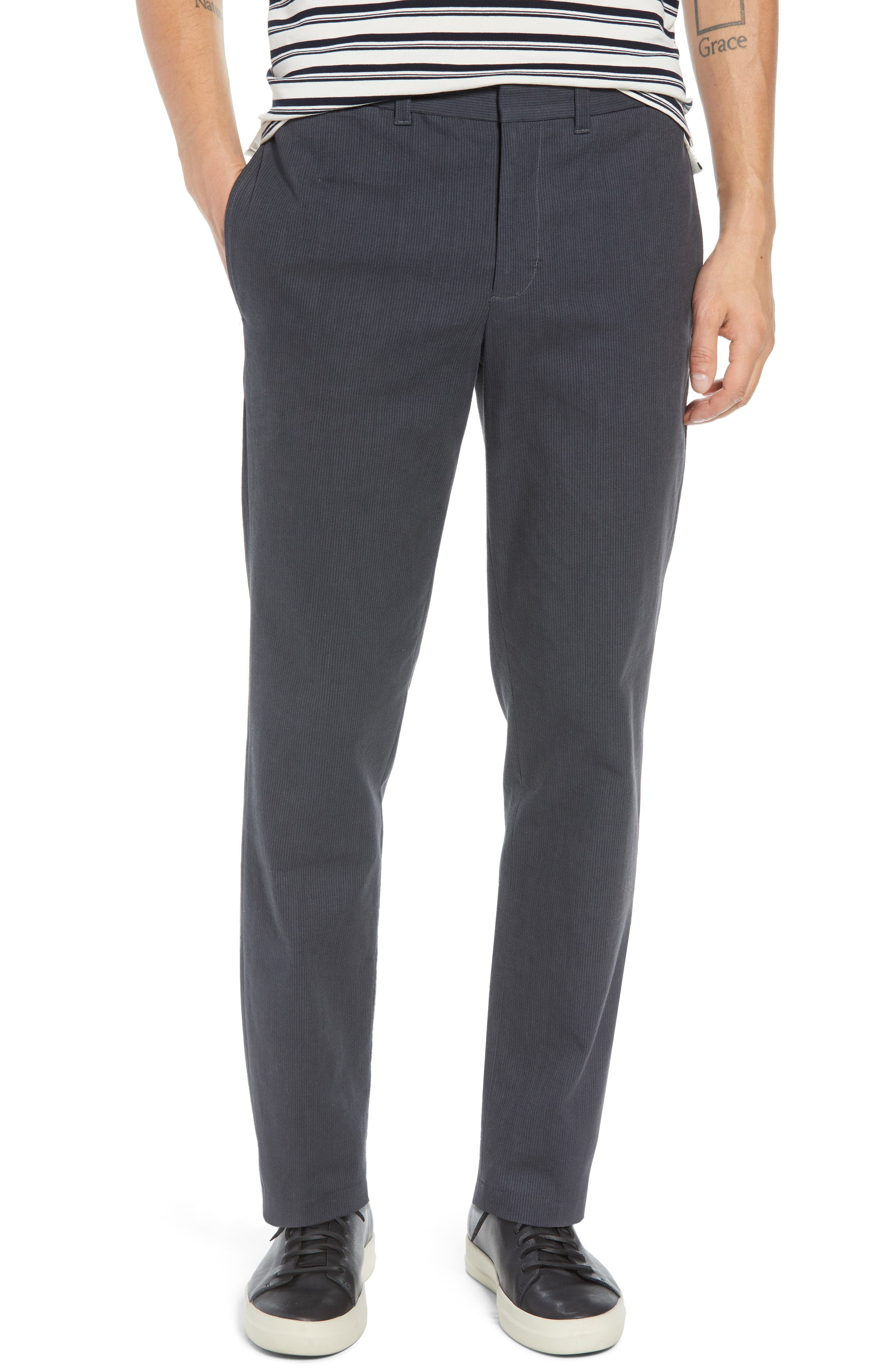 Griffith Slim Fit Chinos,                             Main thumbnail 1, color,                             SLATE