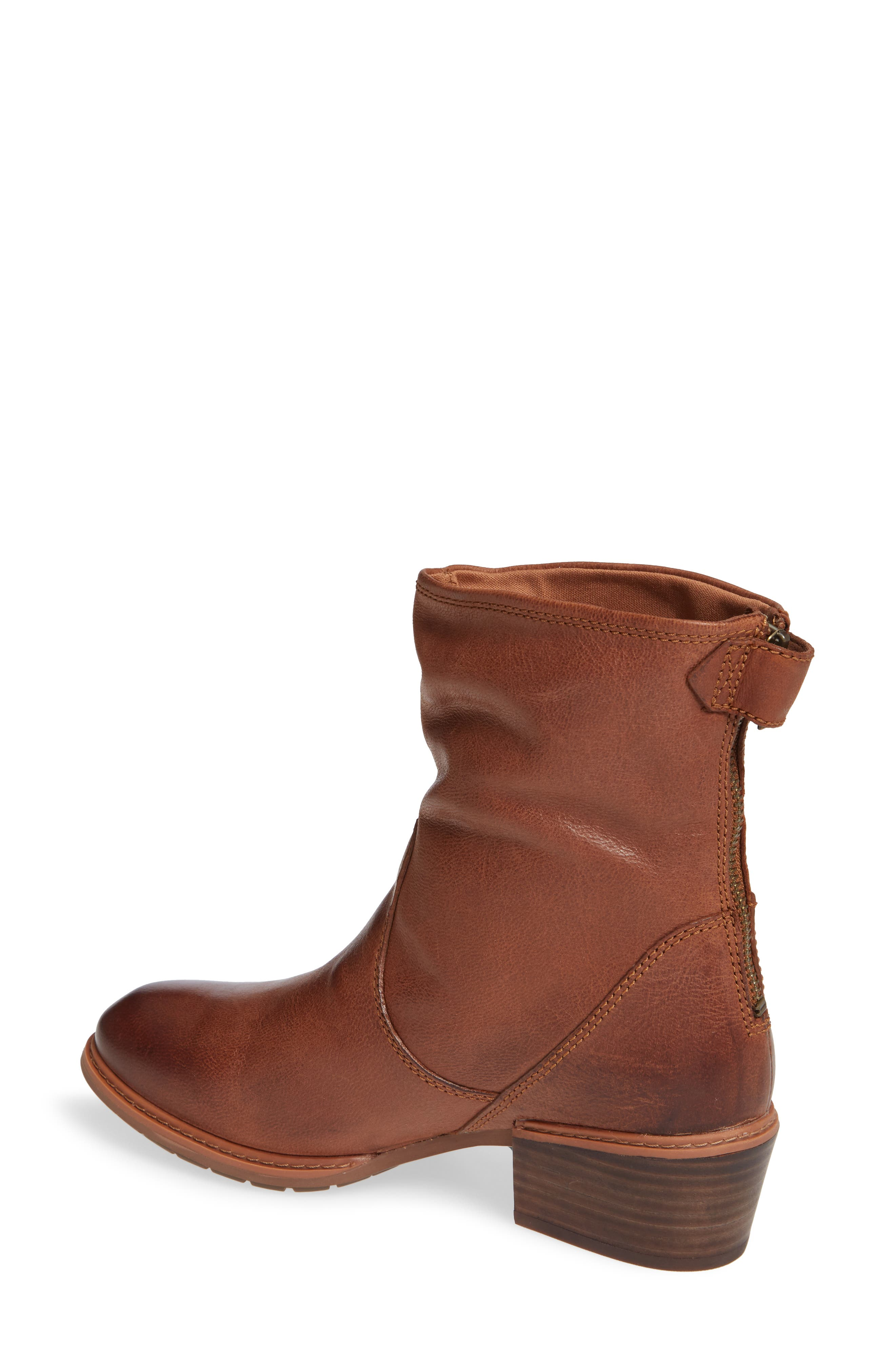 Sutherlin Bay Water Resistant Bootie,                             Alternate thumbnail 2, color,                             ARGAN OIL LEATHER
