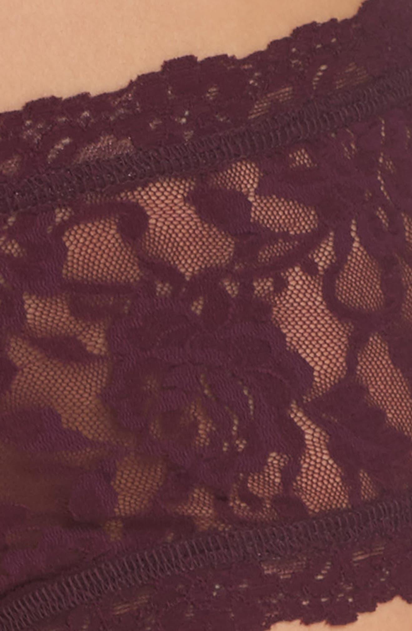 'Signature Lace' Boyshorts,                             Alternate thumbnail 371, color,