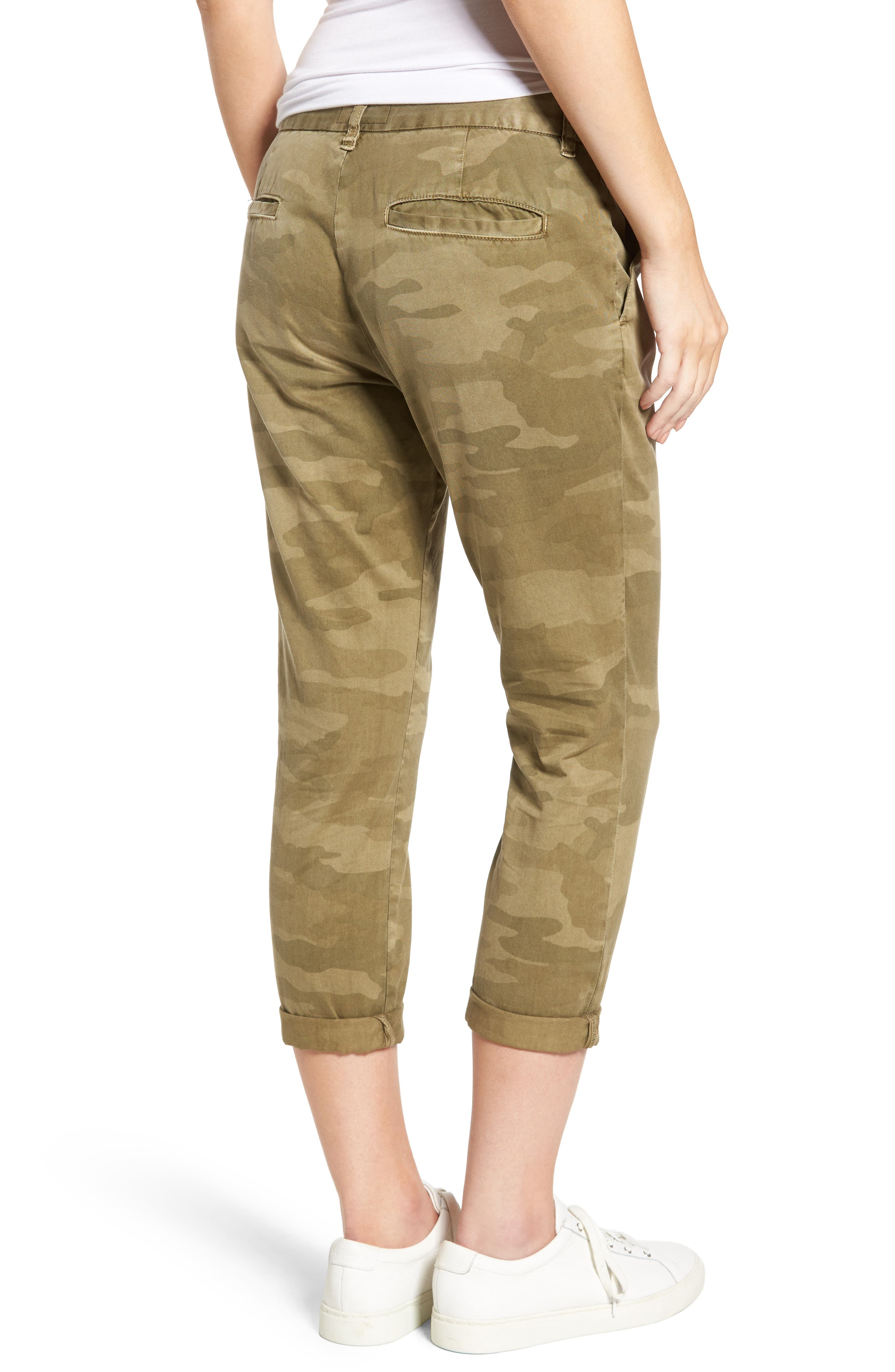 'The Buddy' Print Twill Trousers,                             Alternate thumbnail 2, color,                             314