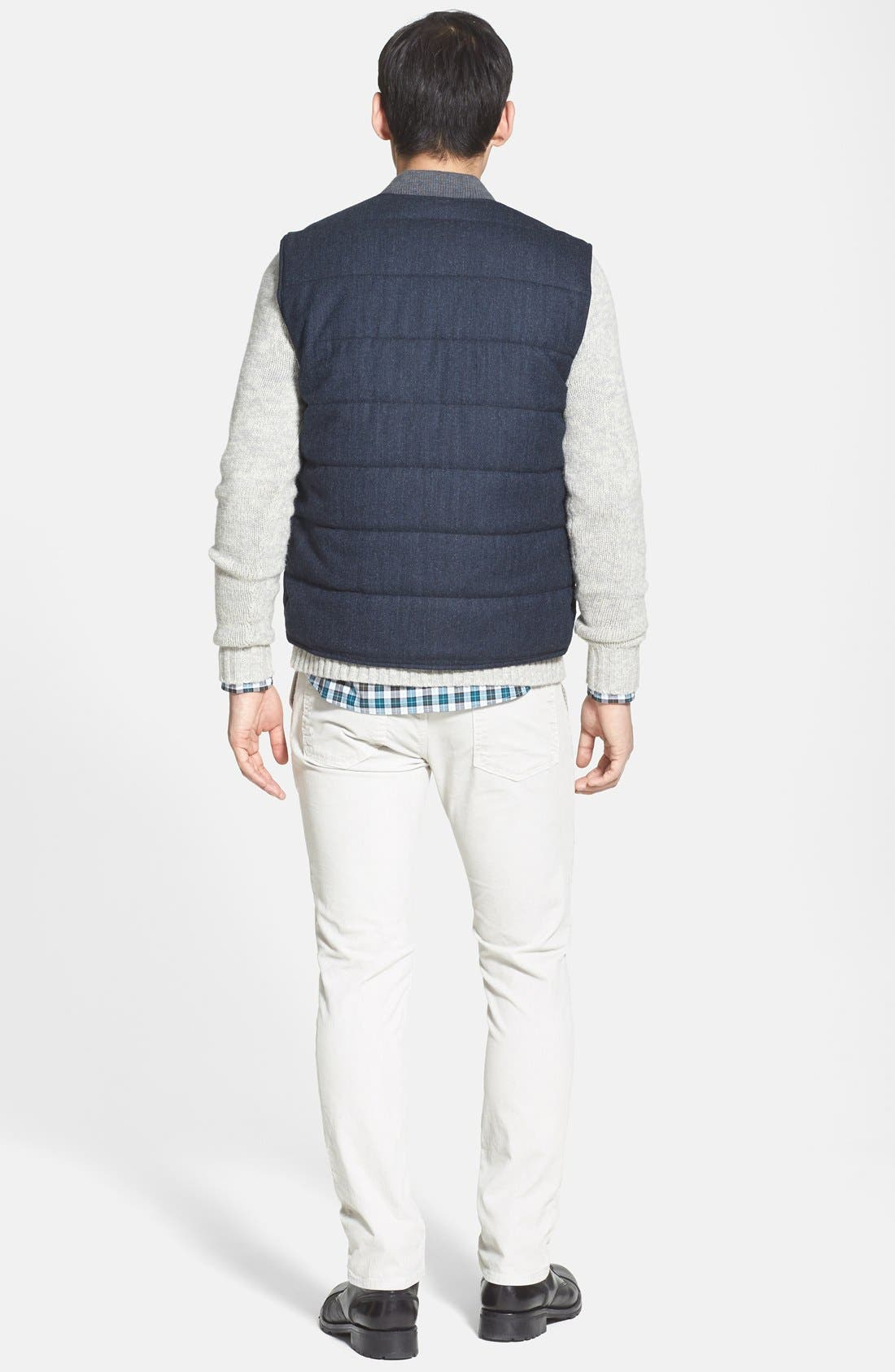 Quilted Vest,                             Alternate thumbnail 2, color,                             409
