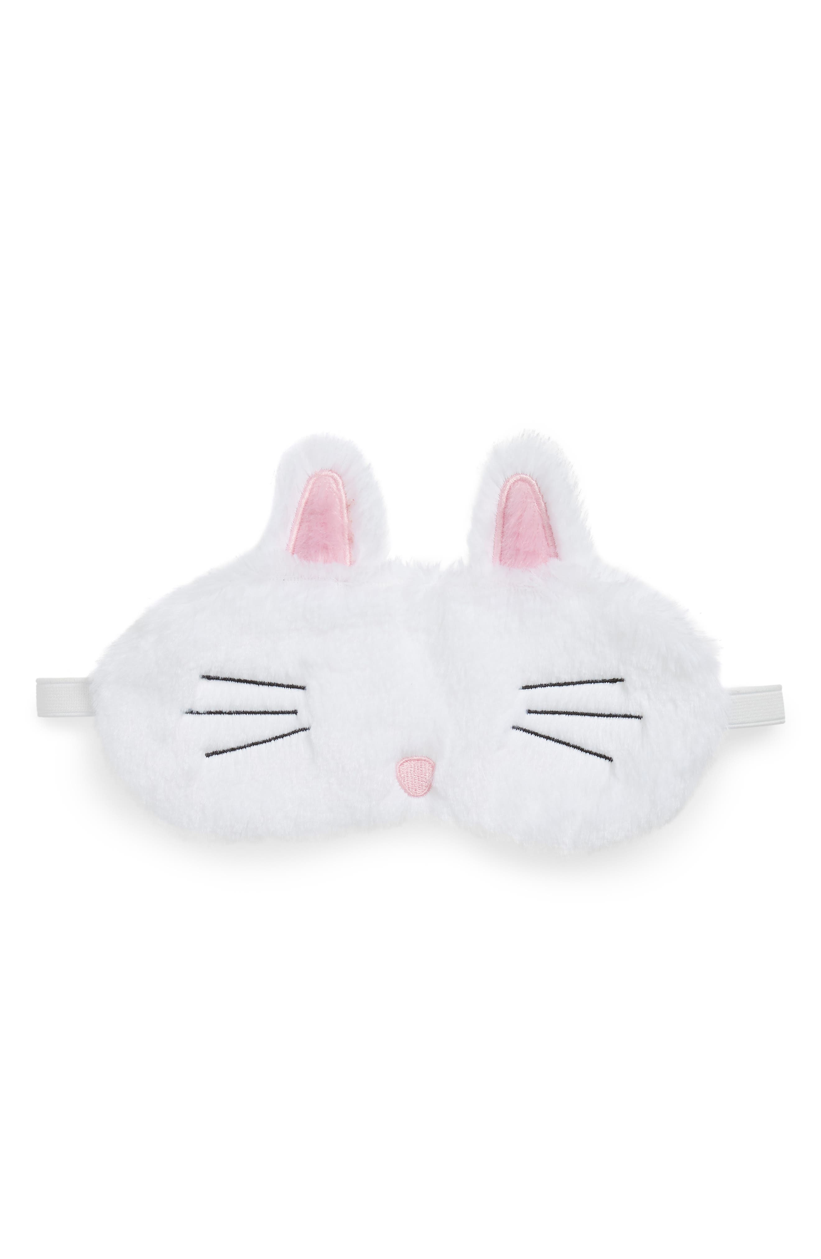 Bunny Spa Eye Mask,                         Main,                         color, 100
