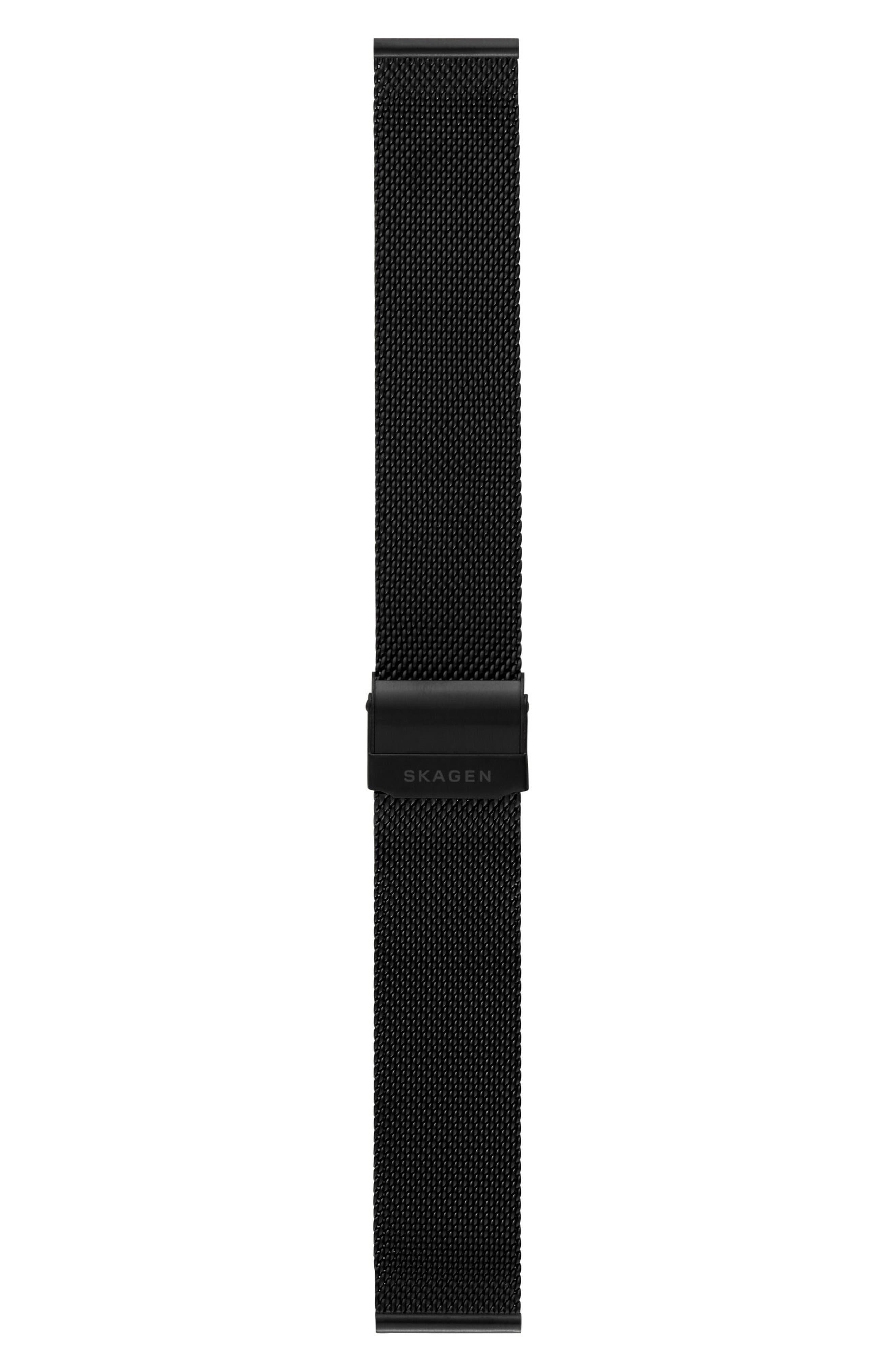 Mesh Watch Strap, 20mm,                             Alternate thumbnail 2, color,                             001