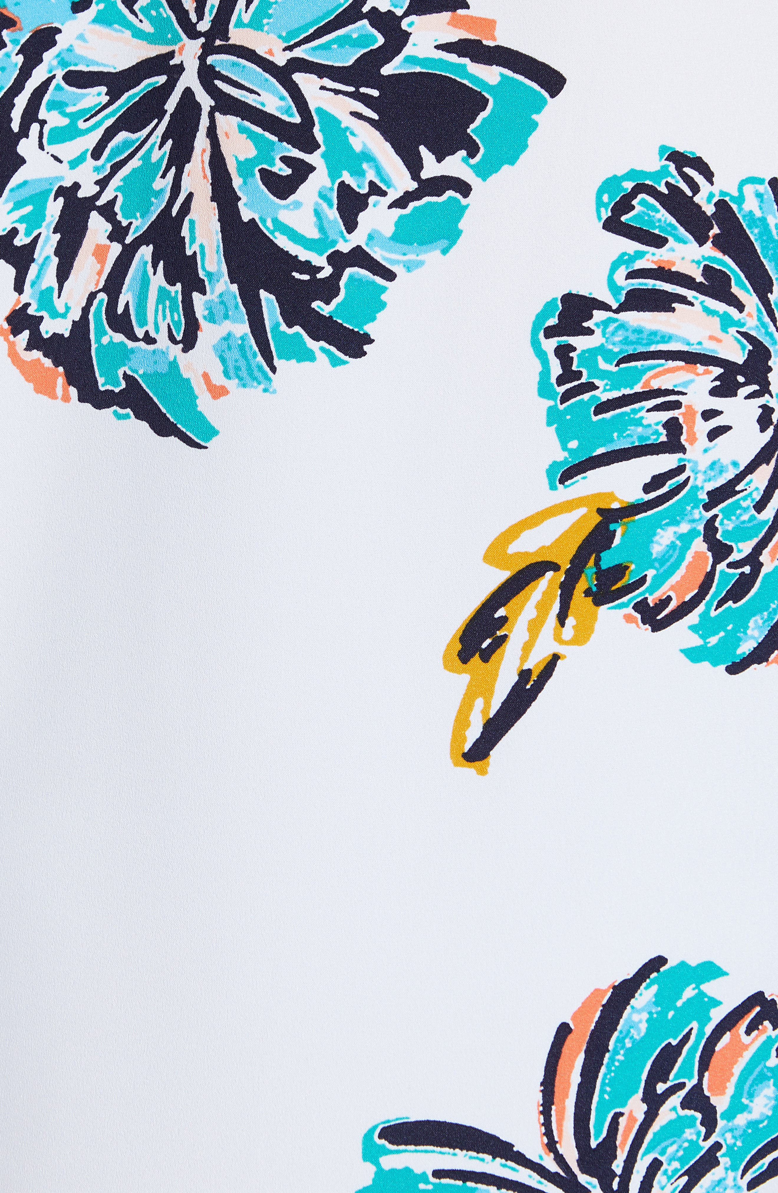 Bow Back Print Flare Sleeve Tunic,                             Alternate thumbnail 33, color,