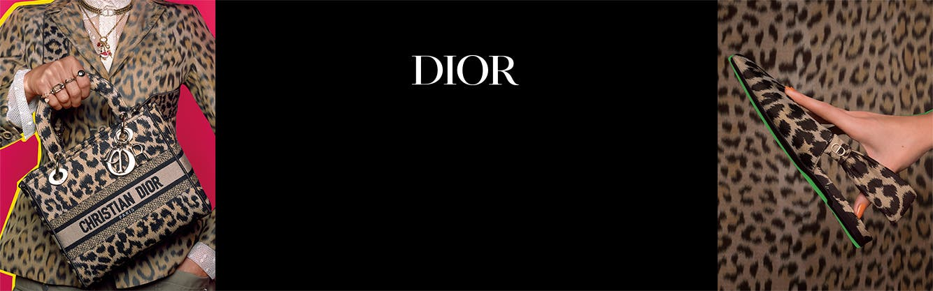 Women in Dior clothing and shoes.