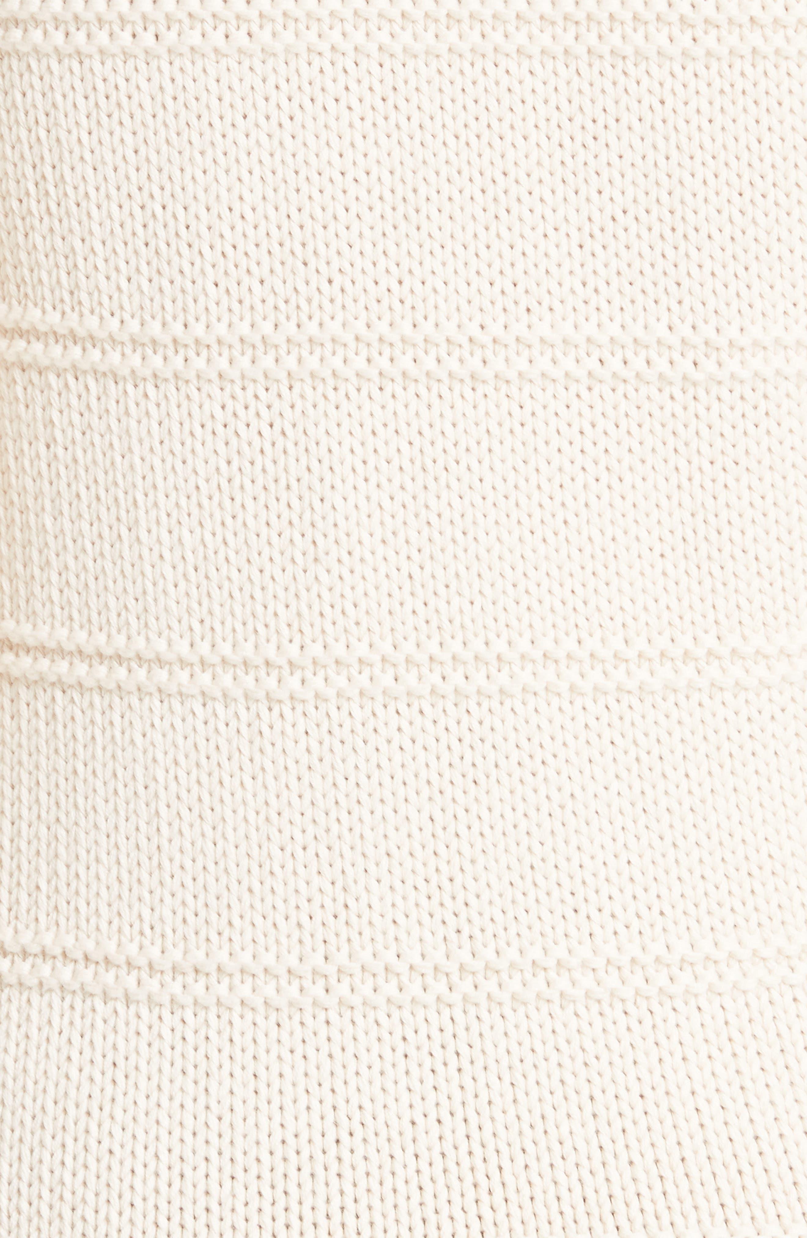 Stripe Cotton & Merino Wool Sweater,                             Alternate thumbnail 10, color,