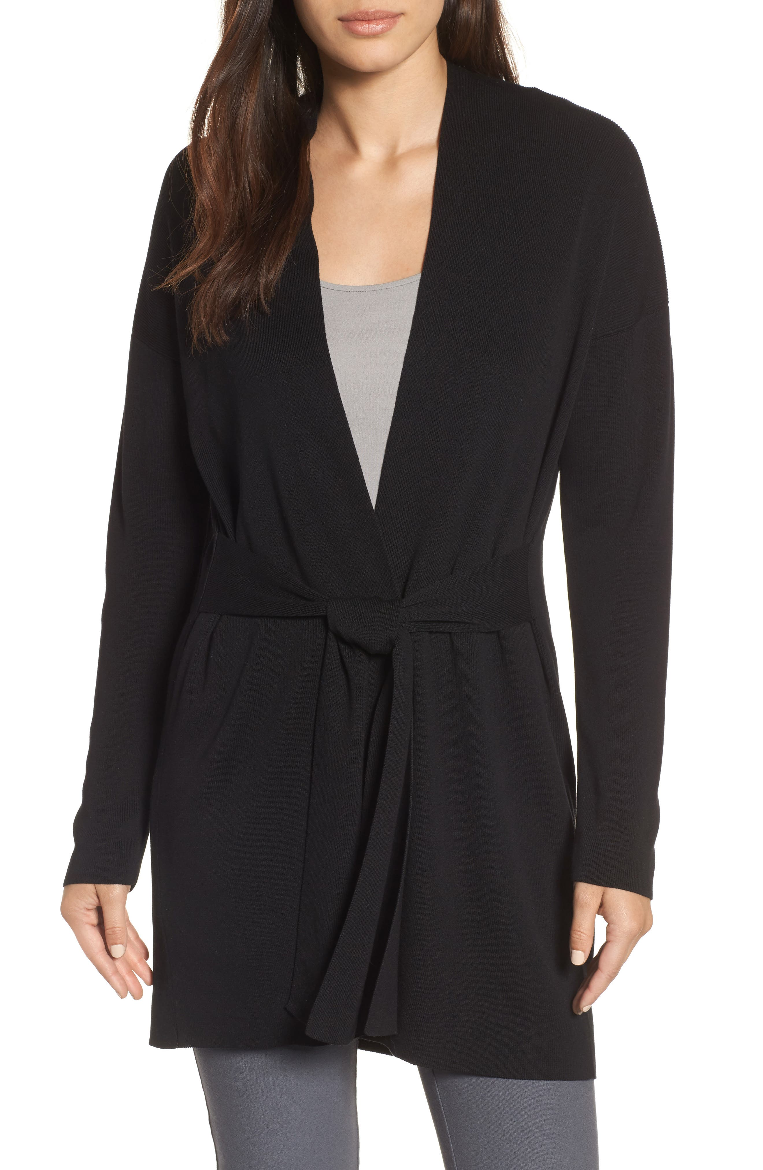 Long Belted Cardigan,                         Main,                         color,