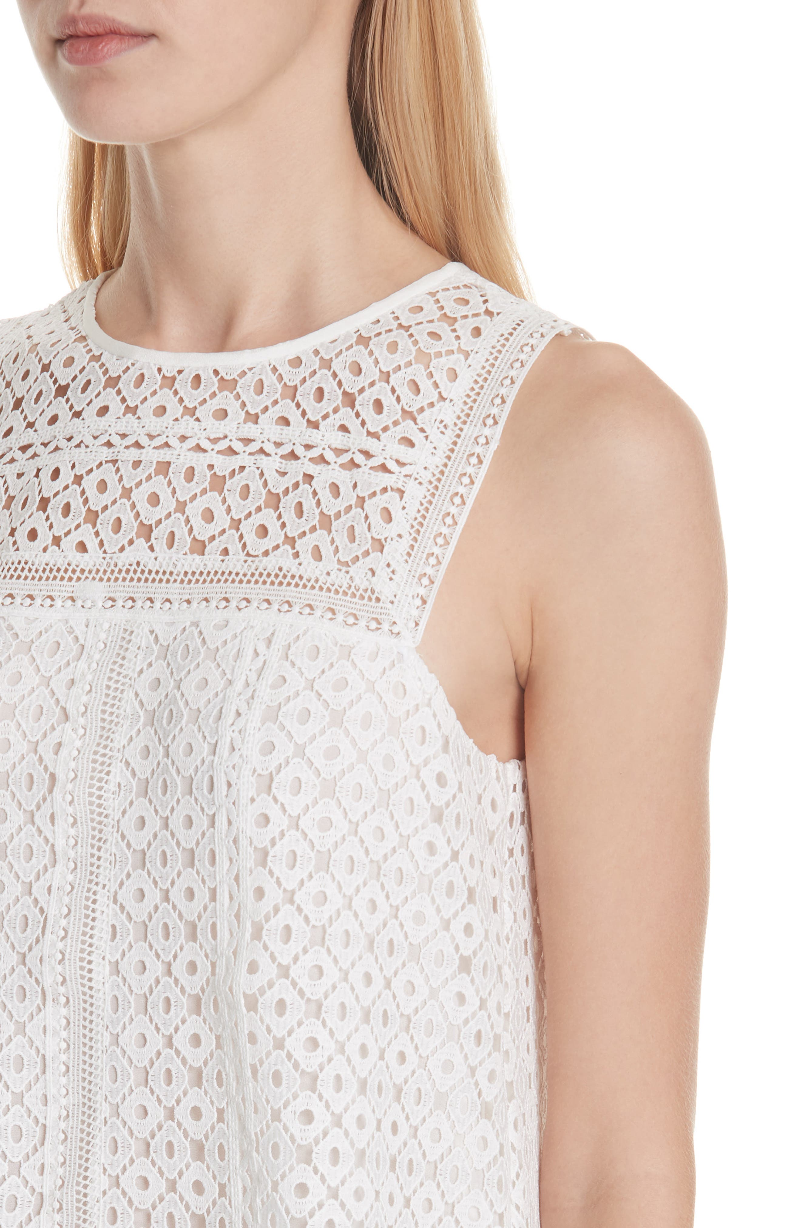 Esrel Lace Top,                             Alternate thumbnail 4, color,                             114