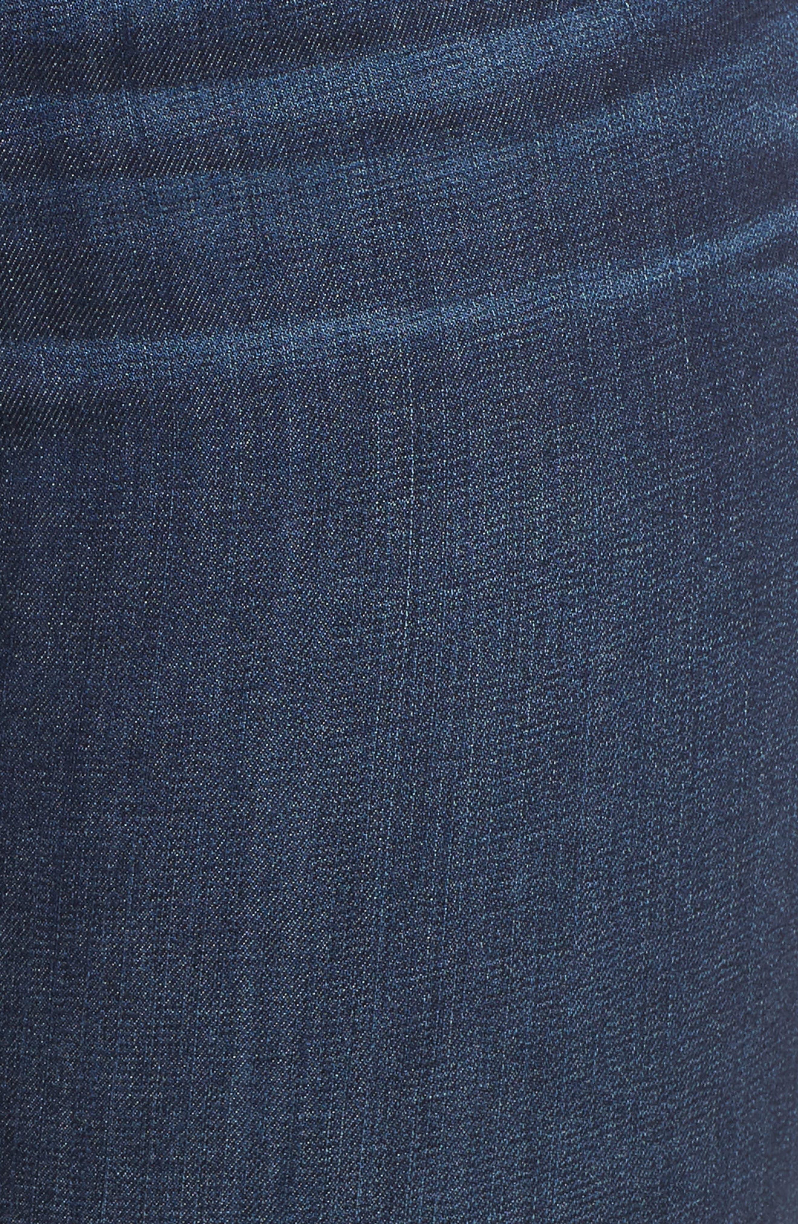 Stretch Skinny Jeans,                             Alternate thumbnail 6, color,                             MEDIUM WASH