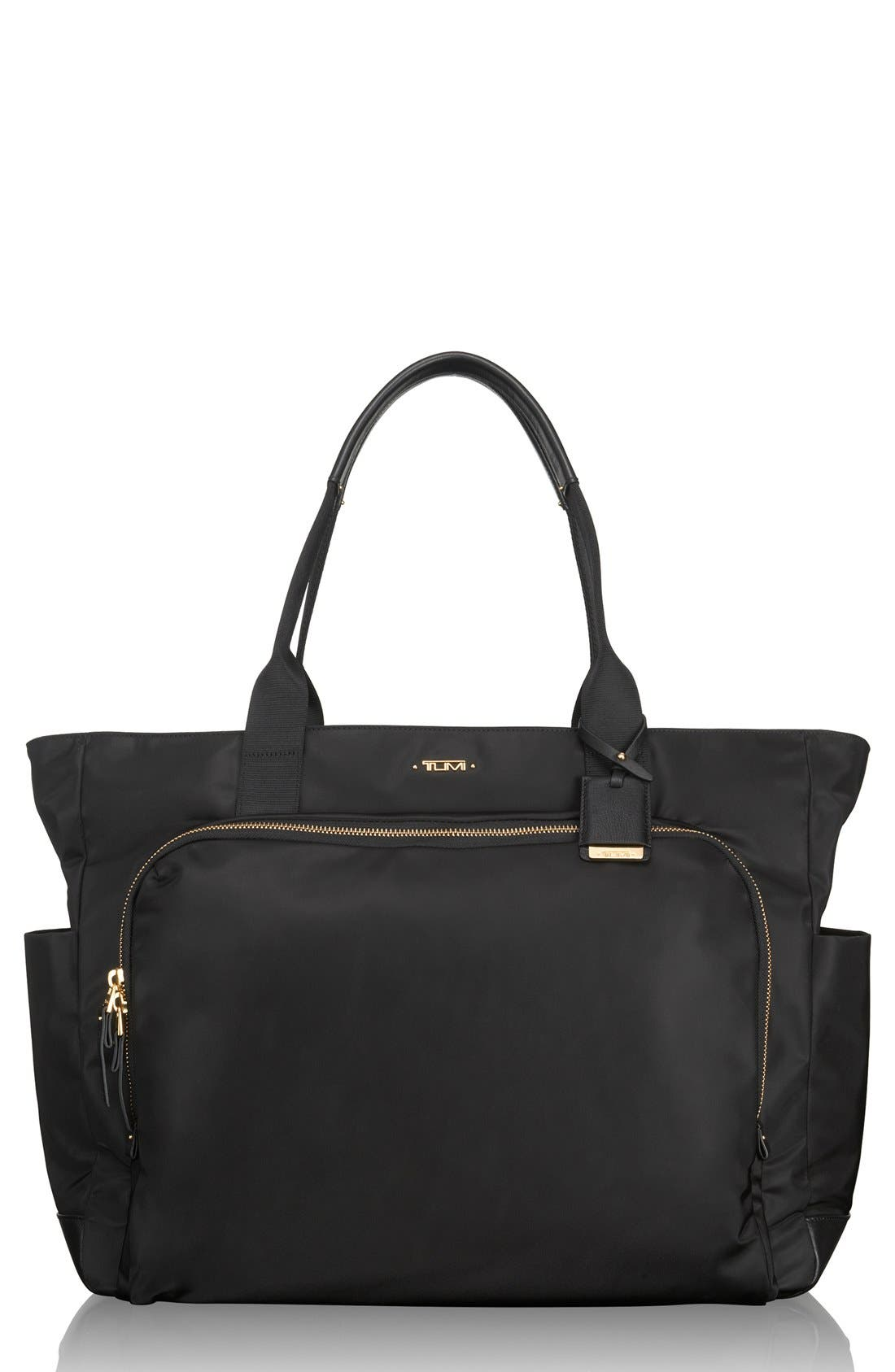 Mansion Shoulder Tote/Baby Bag,                         Main,                         color, 001