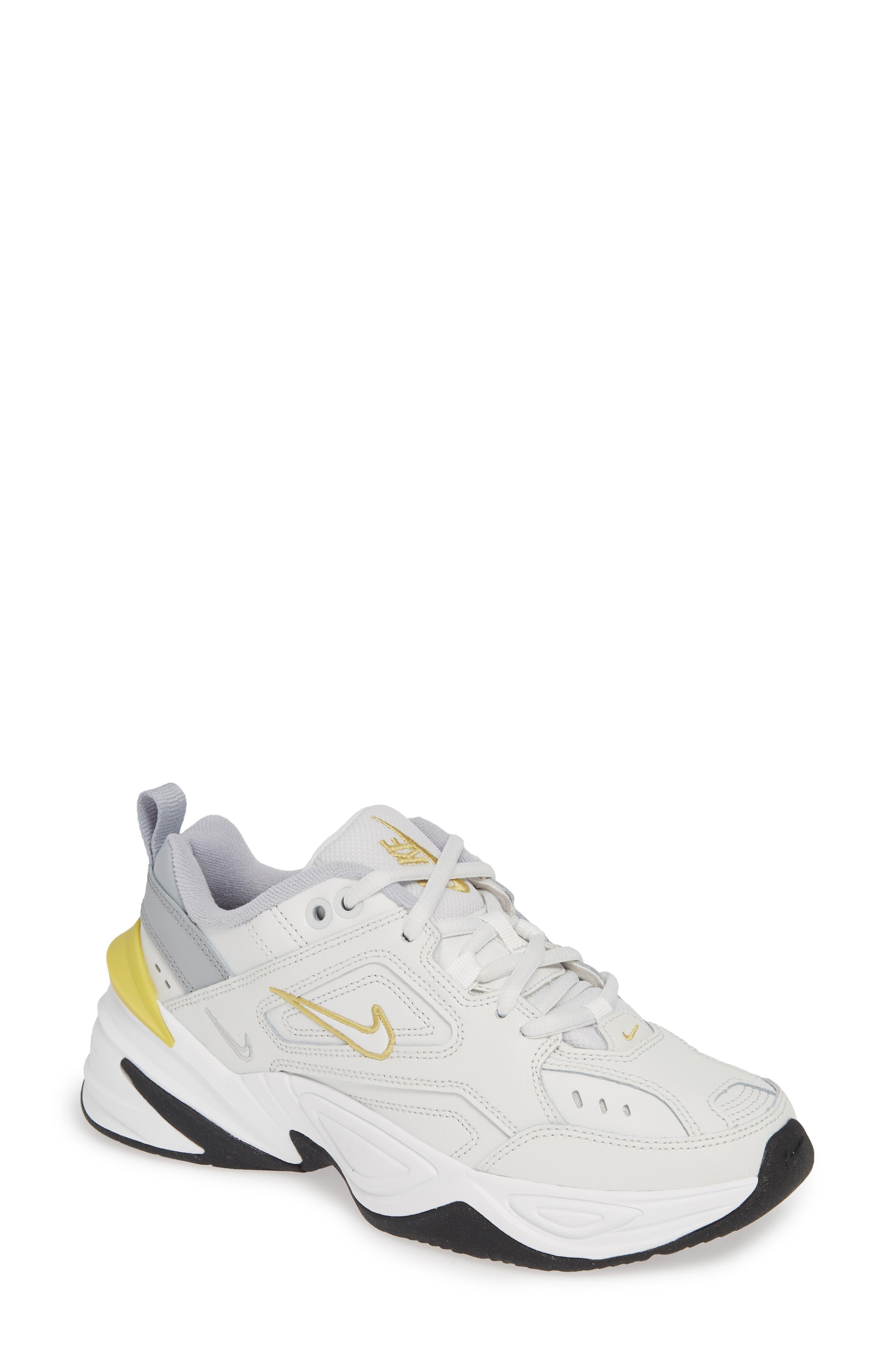 M2K Tekno Sneaker,                         Main,                         color, PLATINUM TINT/ CELERY/ GREY