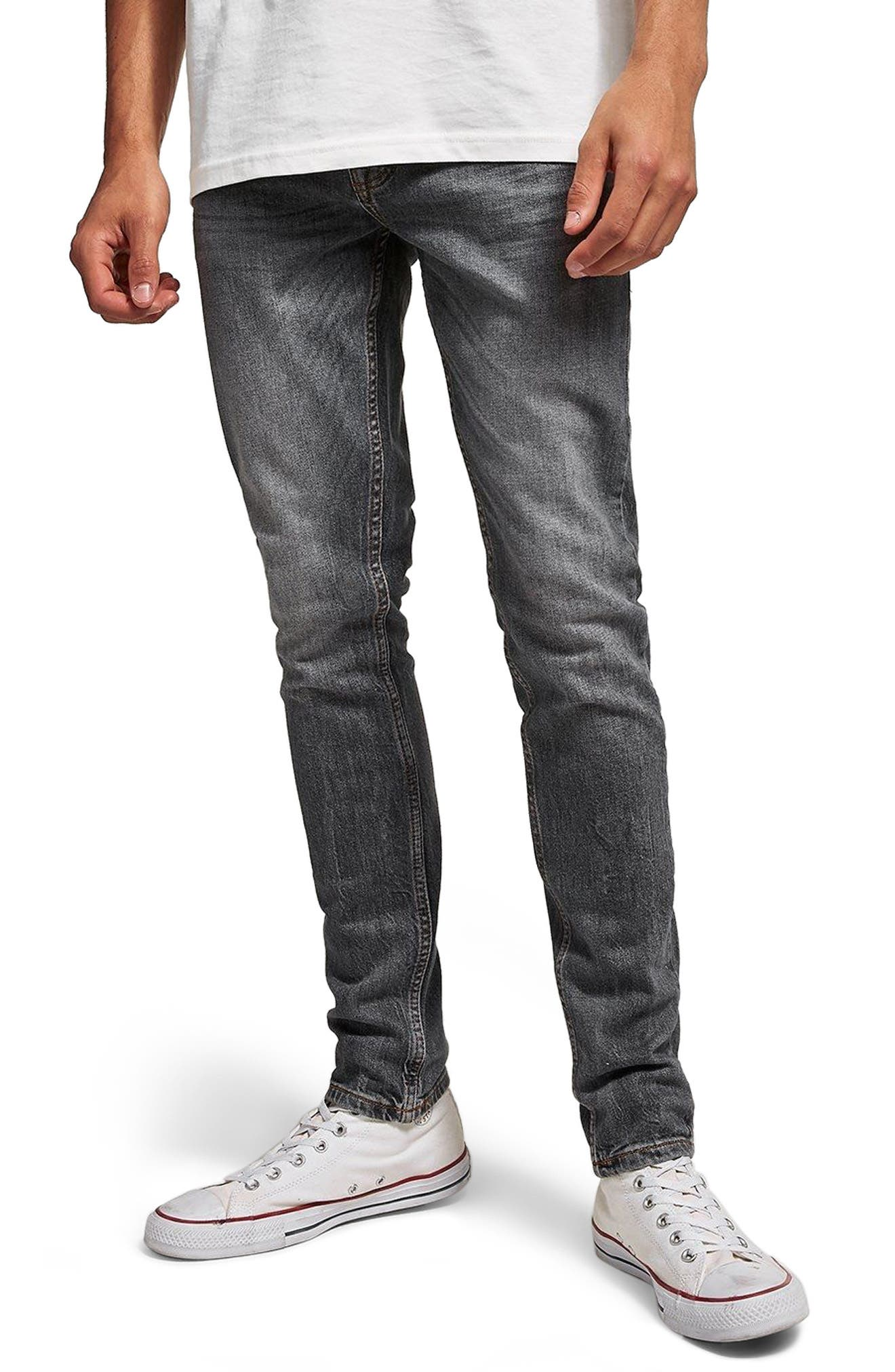 Stretch Skinny Fit Jeans,                             Main thumbnail 1, color,                             020