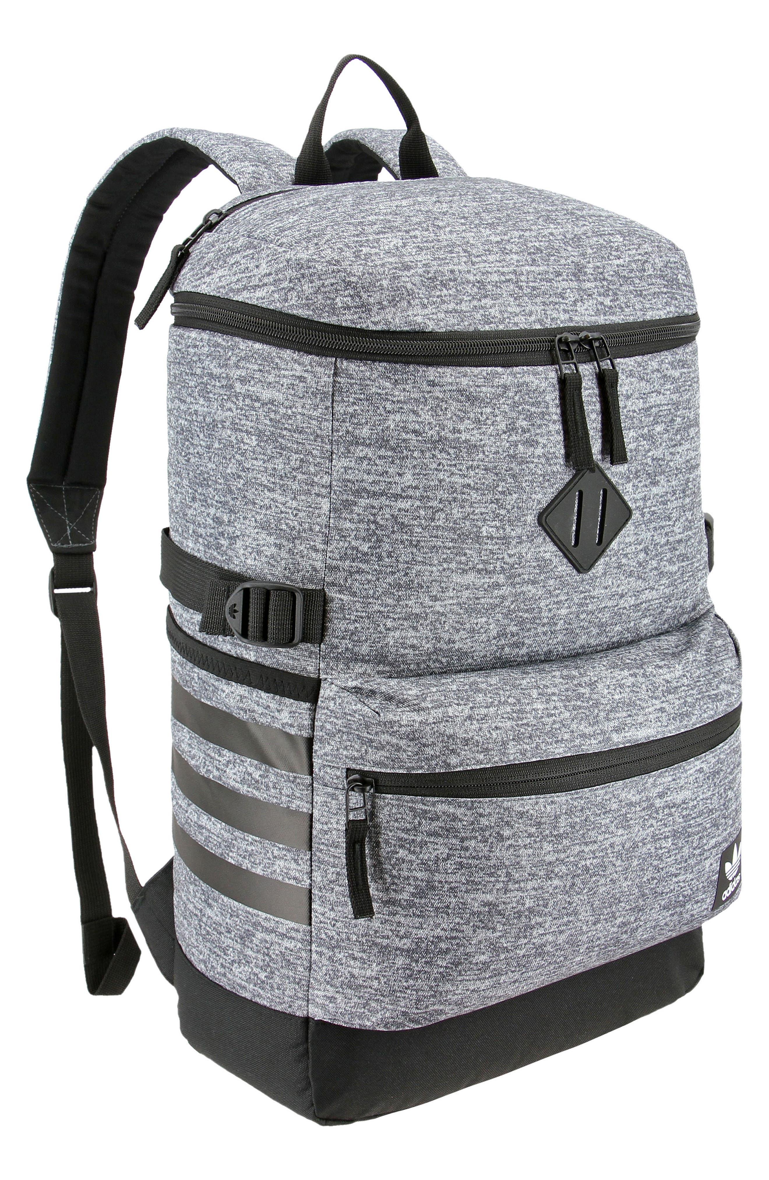 Backpack,                         Main,                         color, MED GREY