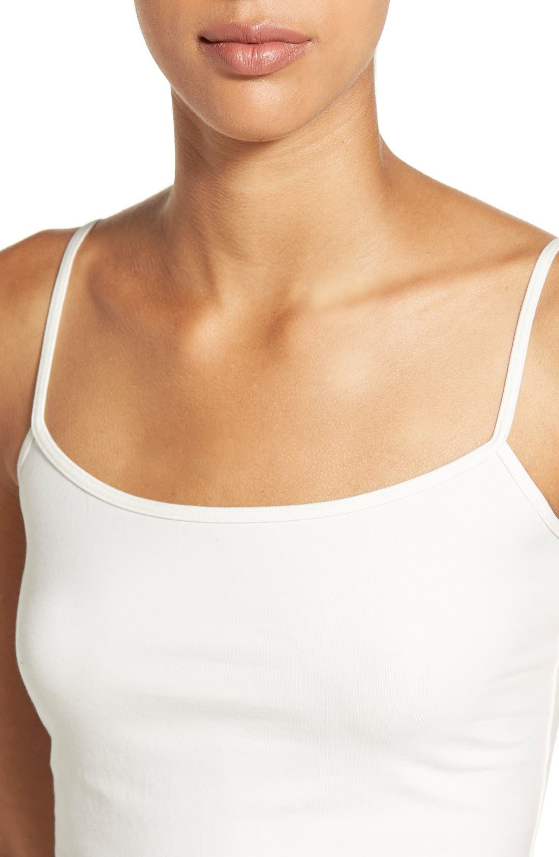 'Absolute' Camisole,                             Alternate thumbnail 4, color,                             IVORY EGRET