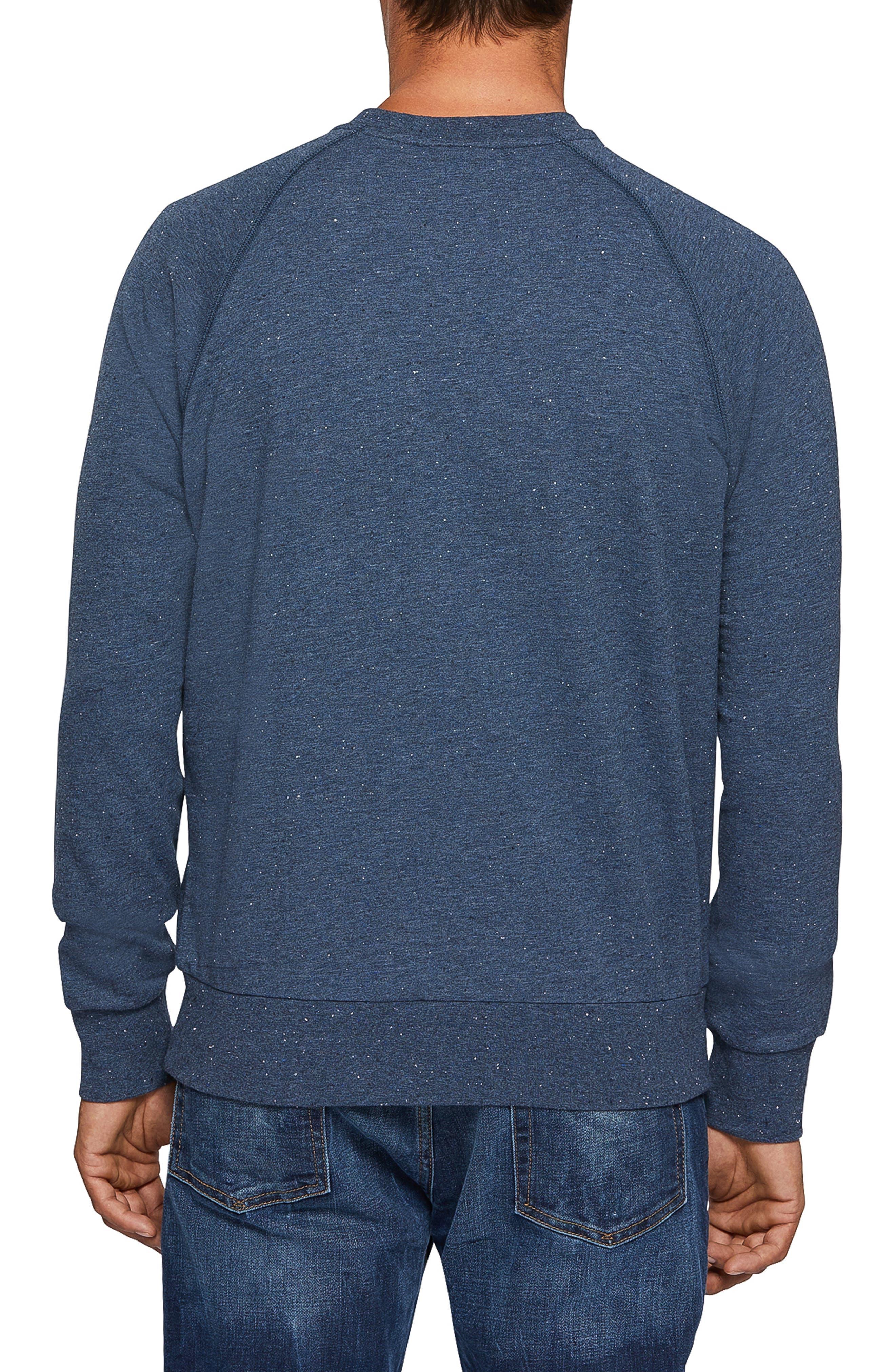 Larne Donegal Crewneck Sweatshirt,                             Alternate thumbnail 2, color,                             GULF
