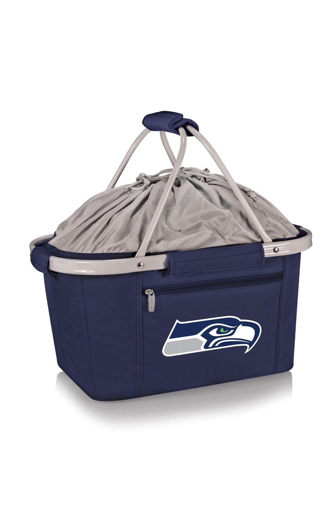 PICNIC TIME Metro NFL Collapsible Insulated Basket, Main, color, 409