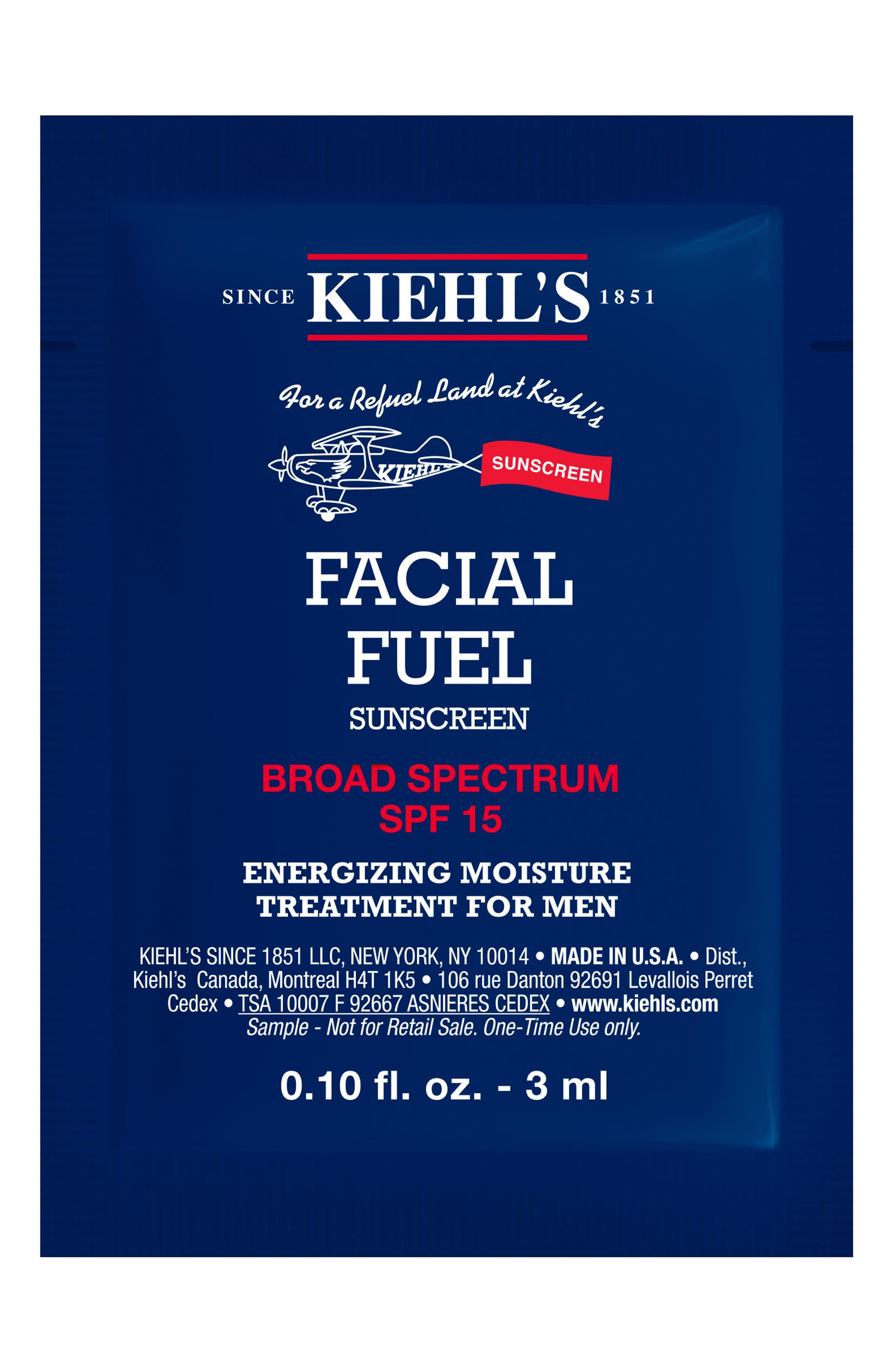 'Facial Fuel' SPF 15 Sunscreen,                             Alternate thumbnail 2, color,                             000