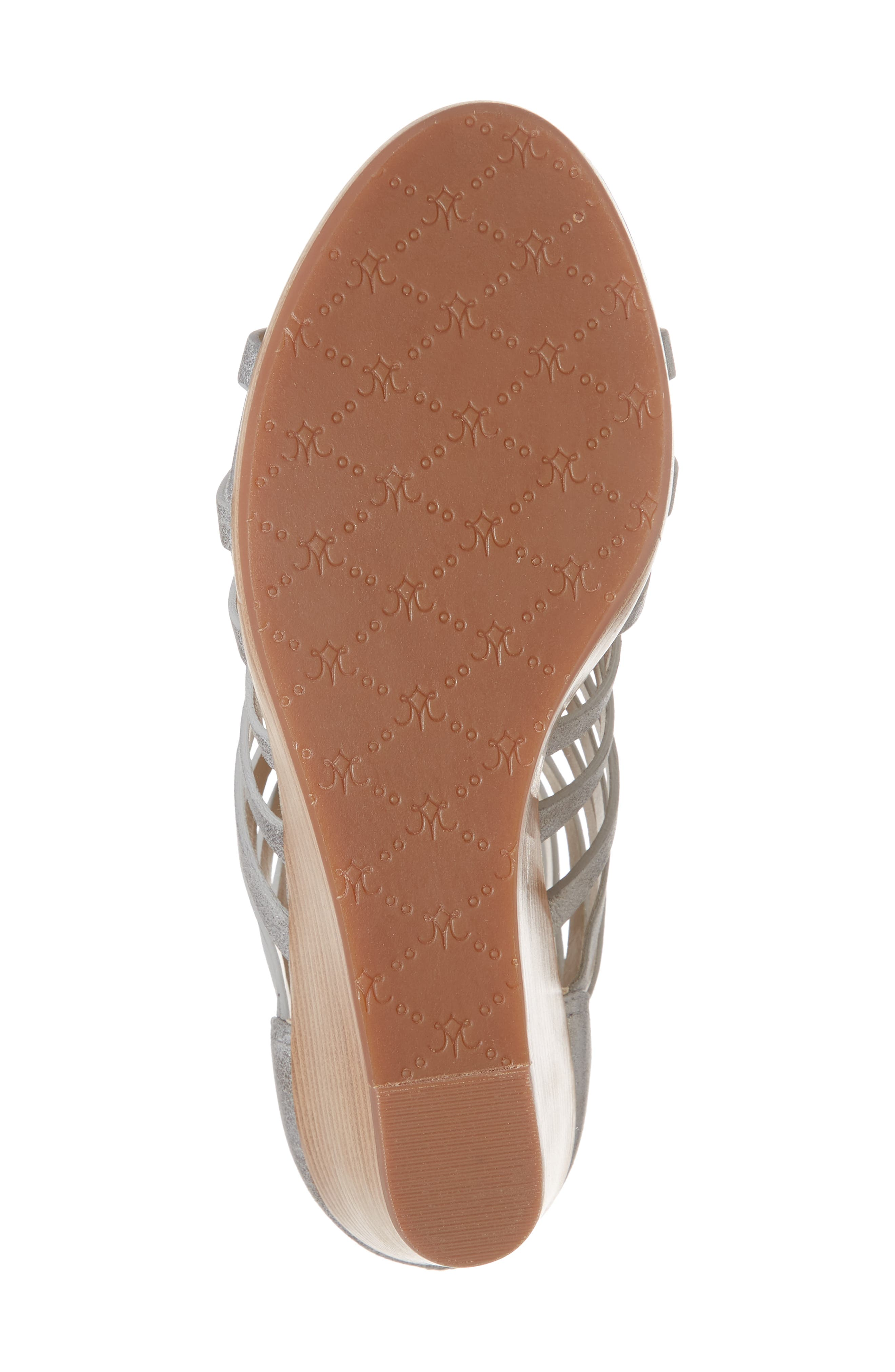 Geneva Strappy Wedge Sandal,                             Alternate thumbnail 11, color,