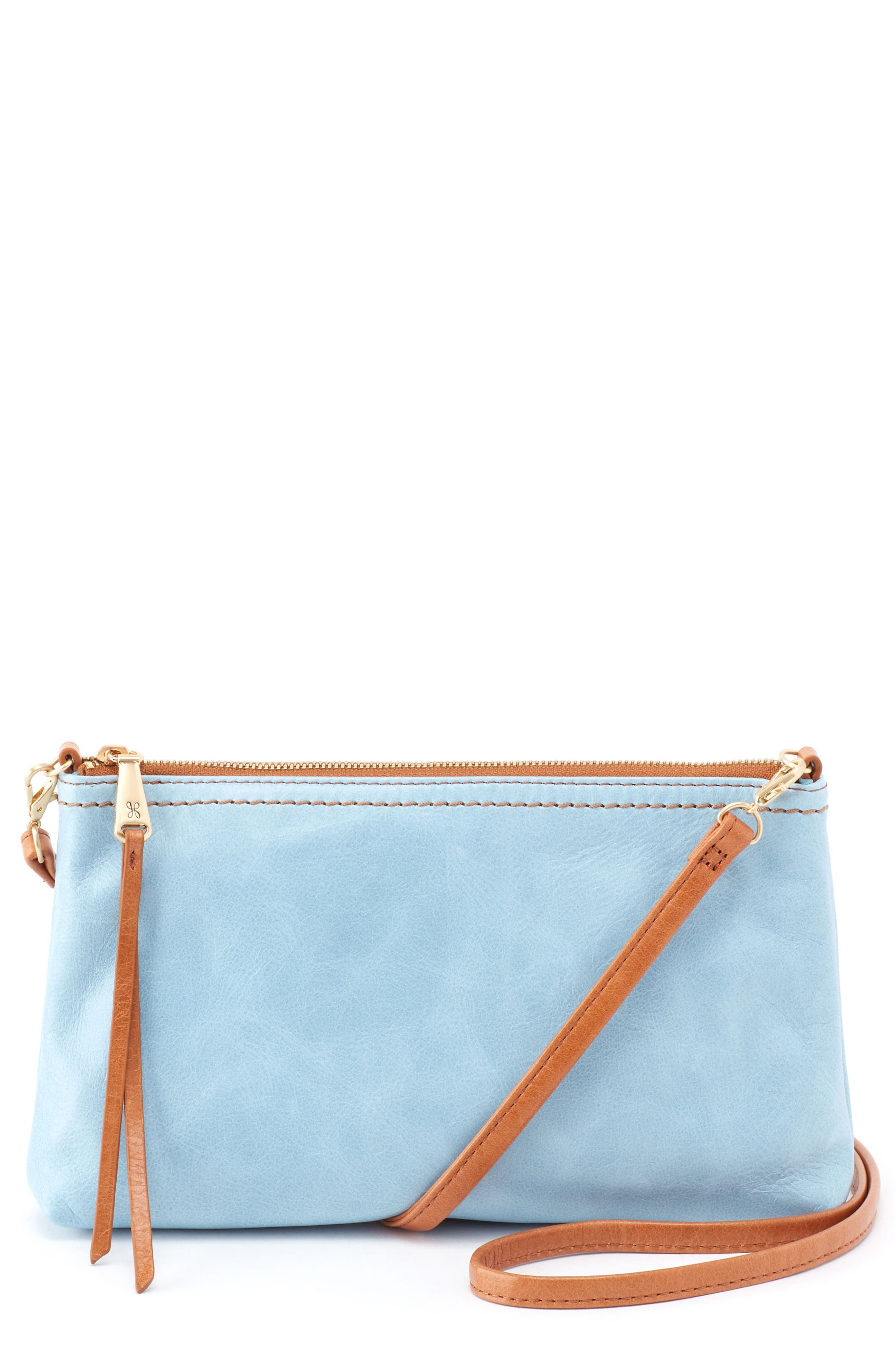 'Darcy' Leather Crossbody Bag,                             Main thumbnail 5, color,